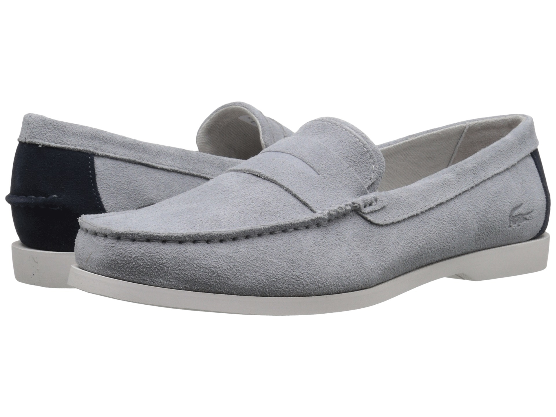 7119e385b Lyst - Lacoste Navire Penny 216 1 in Gray for Men