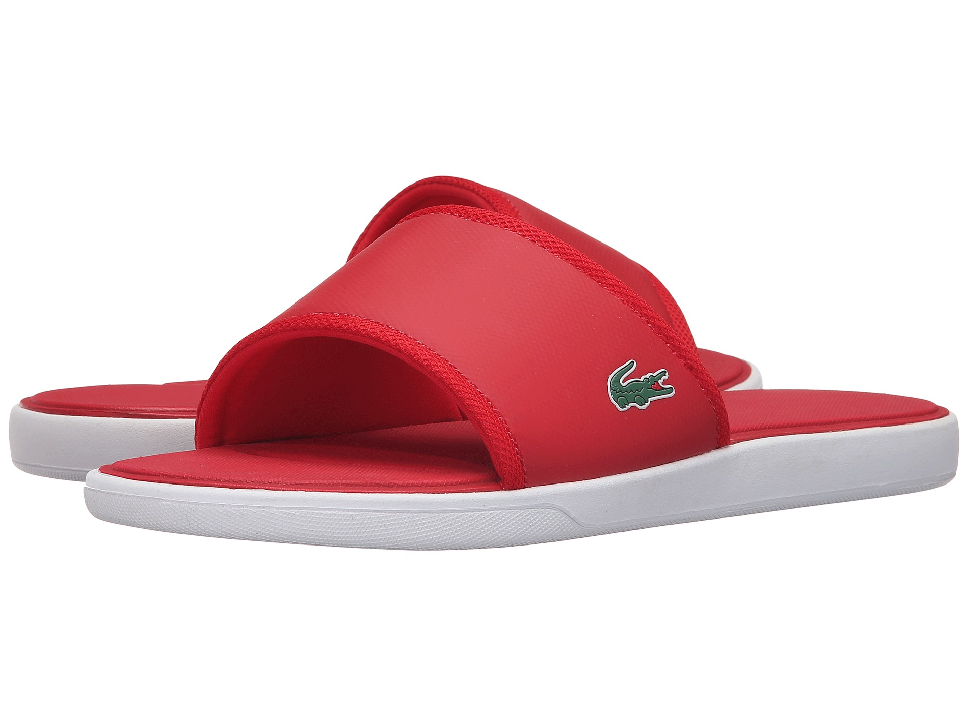 2ca928f2789722 Lyst - Lacoste L.30 Slide Sport Spm in Red for Men