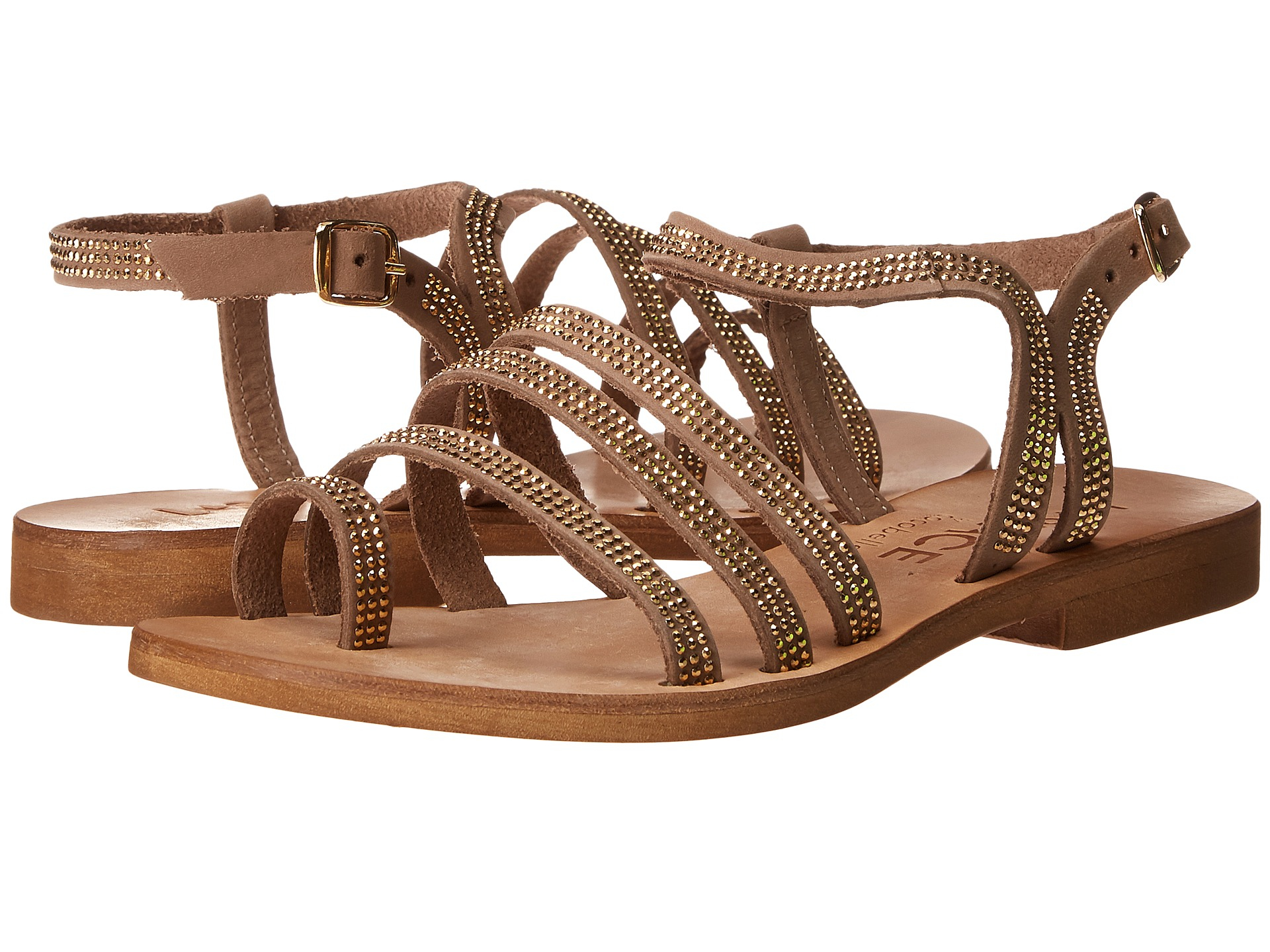 5741bc96d17229 Lyst - L Space Sicily Sandals in Brown