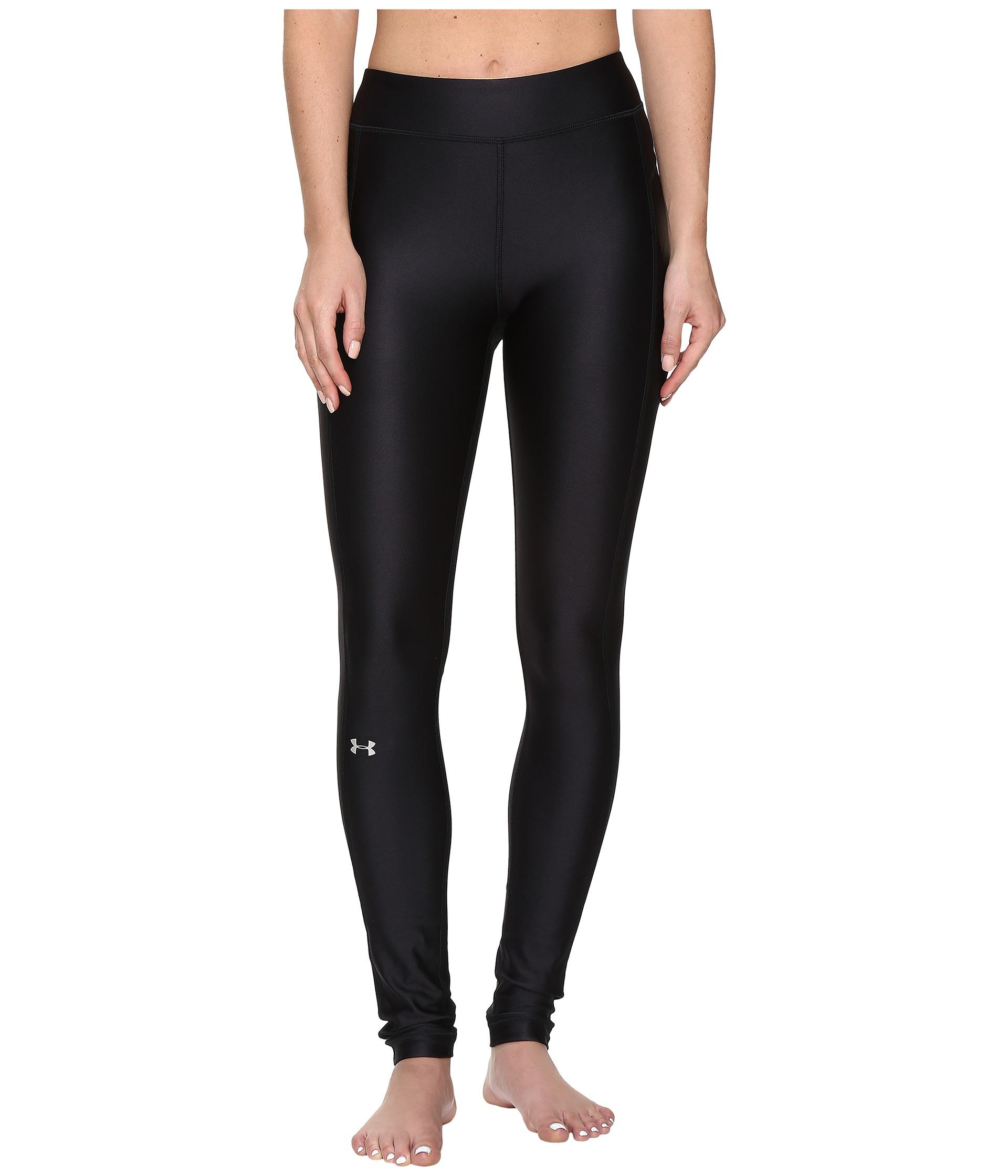 Under Armour Ua Heatgearu00ae Armour Leggings In Black | Lyst
