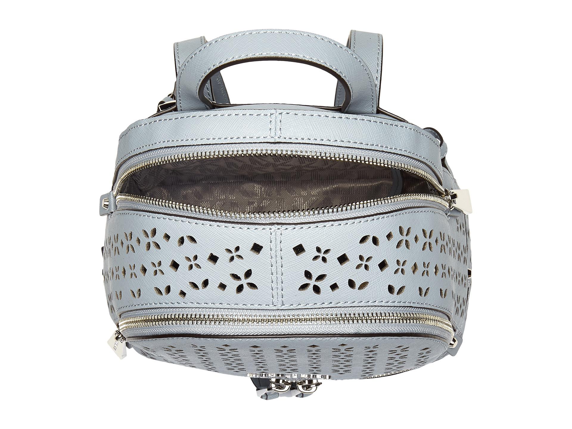 b4e389131c8ab2 MICHAEL Michael Kors Rhea Zip Backpack in Blue - Lyst