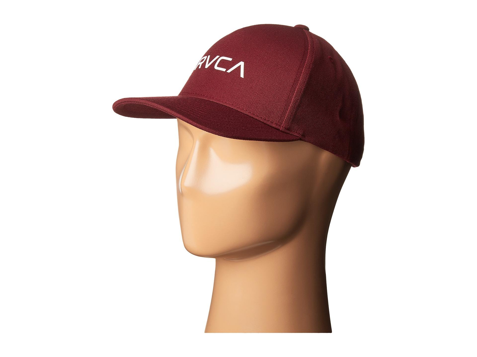 c836e344401f6 ... norway lyst rvca curved bill snapback in red for men 571a1 f626b