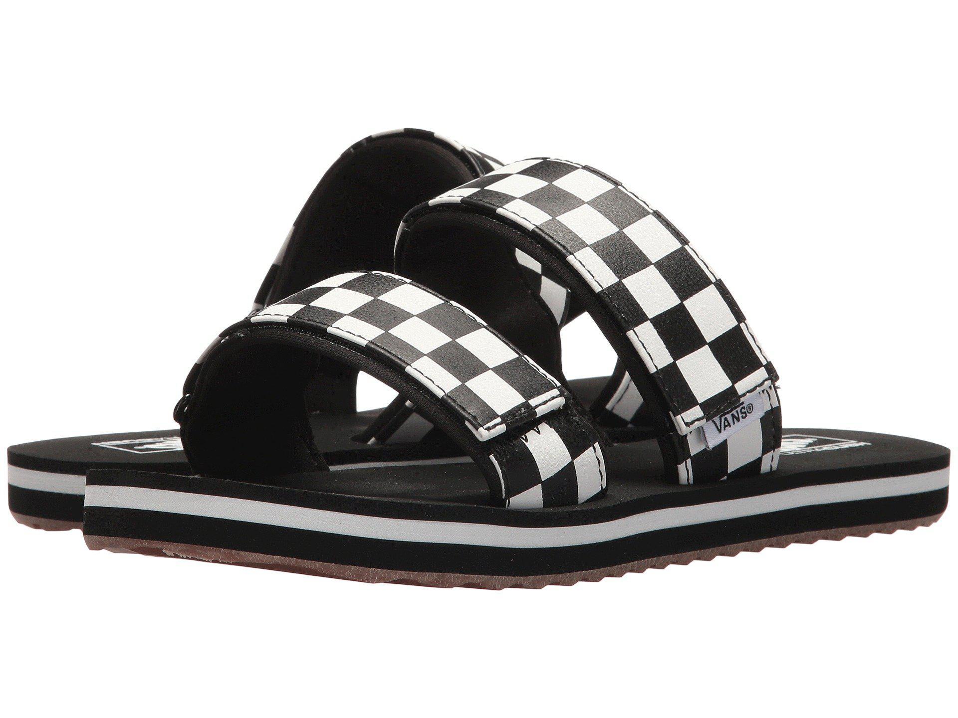 Lyst - Vans Cayucas Slide in Black 8daf98827