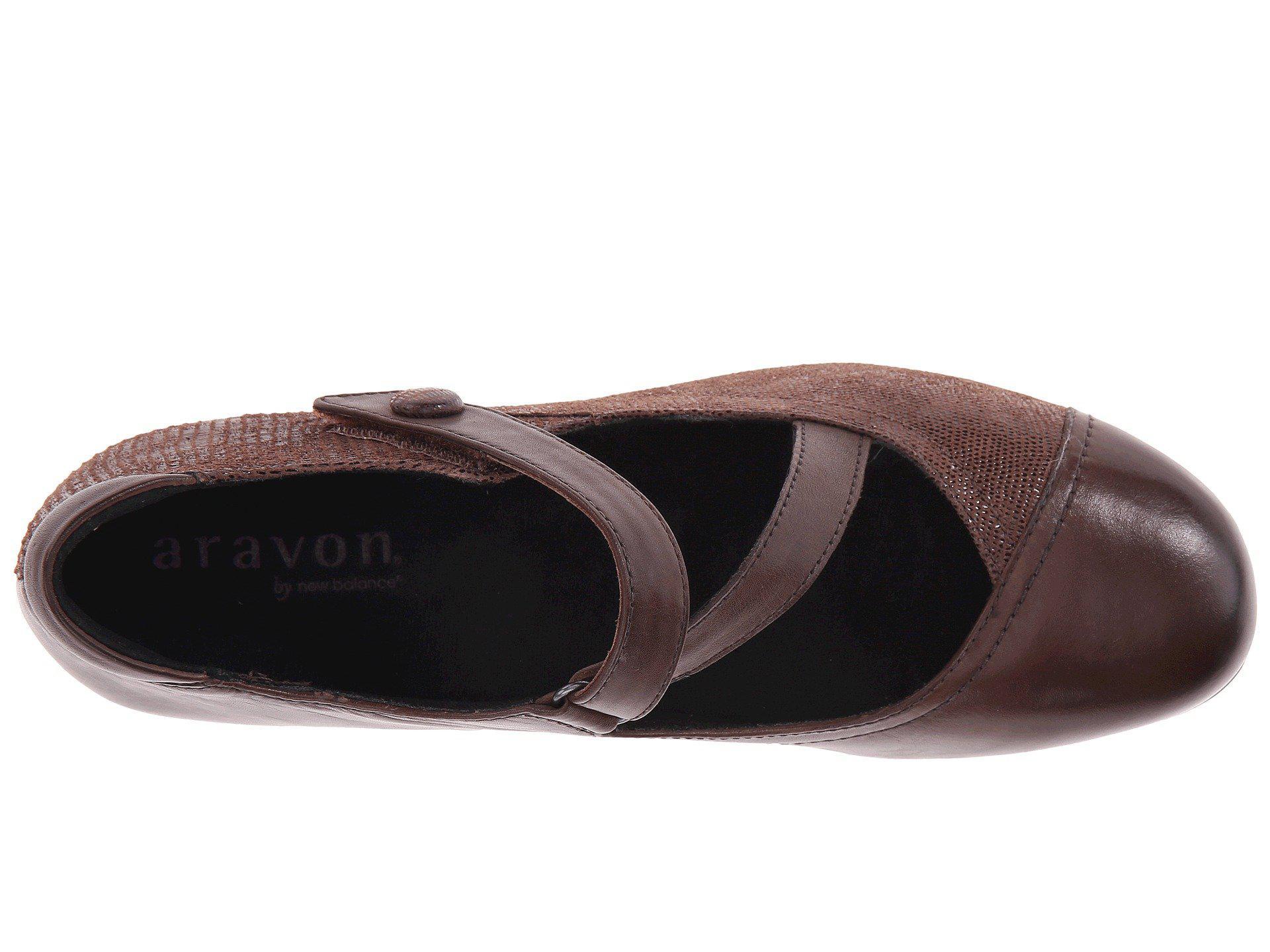 a65a5315ef Aravon - Brown Portia (black Multi) Women's Maryjane Shoes - Lyst. View  fullscreen
