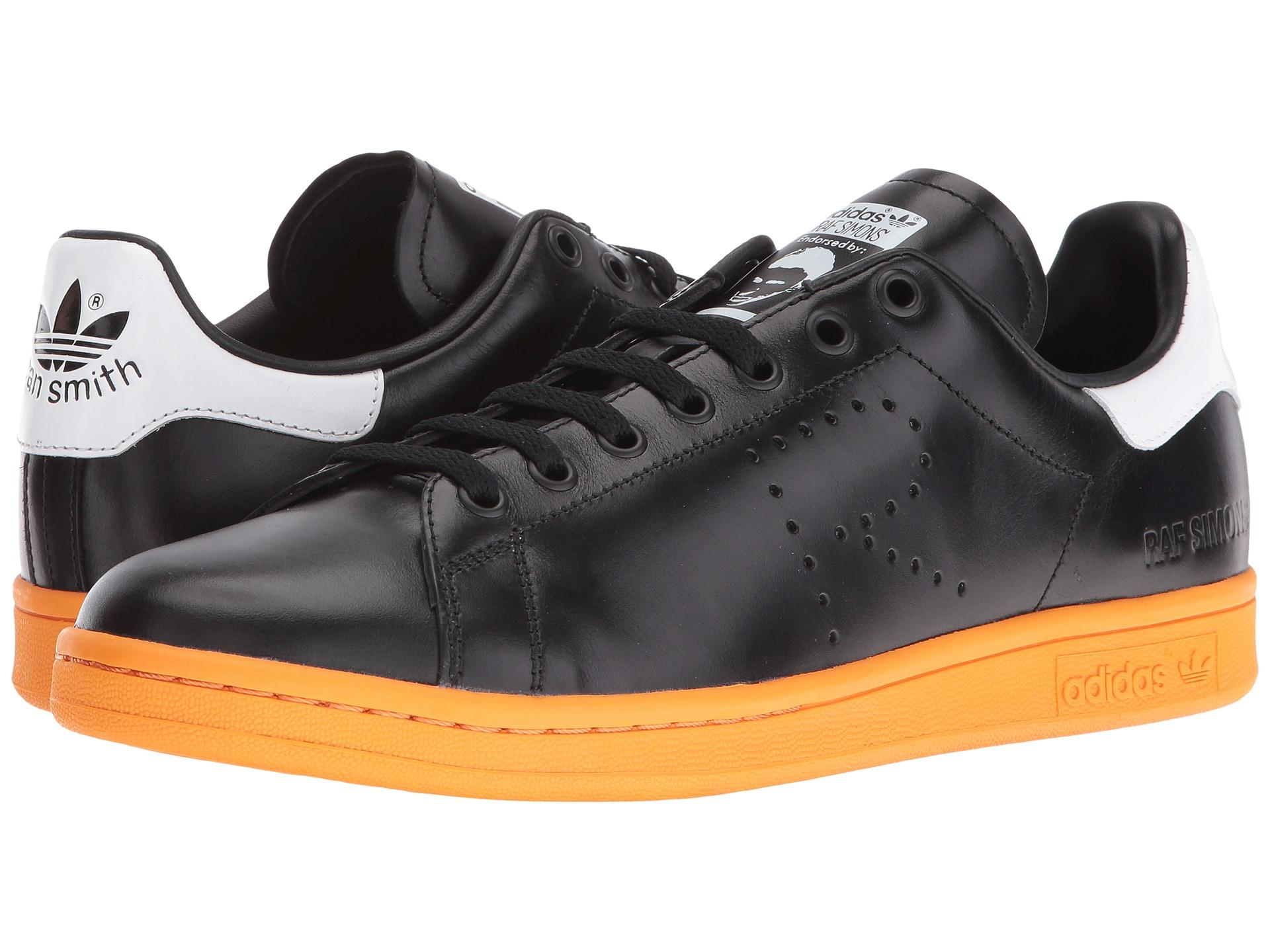 adidas by raf simons stan smith leather sneaker in white. Black Bedroom Furniture Sets. Home Design Ideas