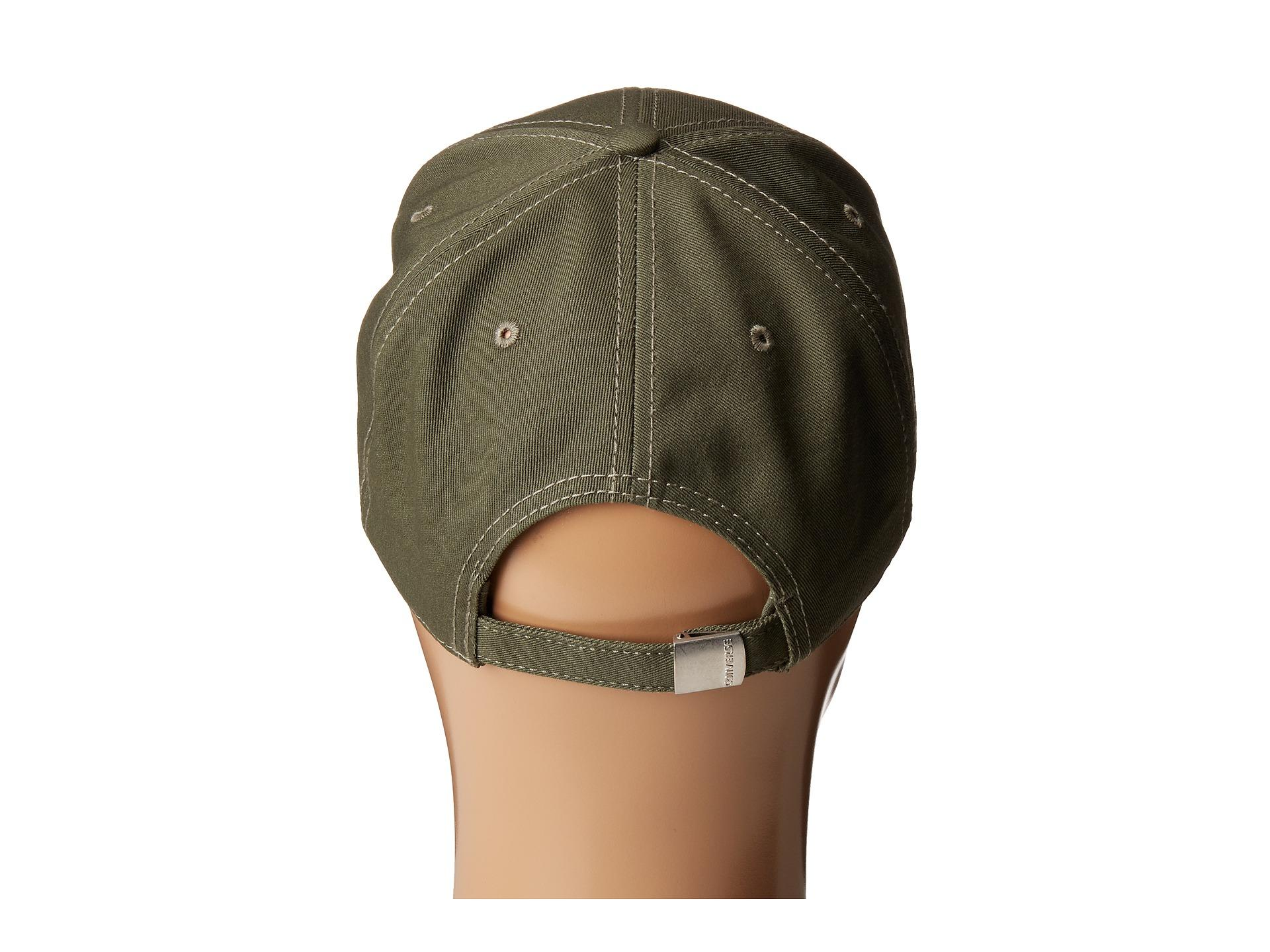c3b852ae0a363 Lyst - Converse Core Classic Twill Curved Baseball Cap in Green for Men