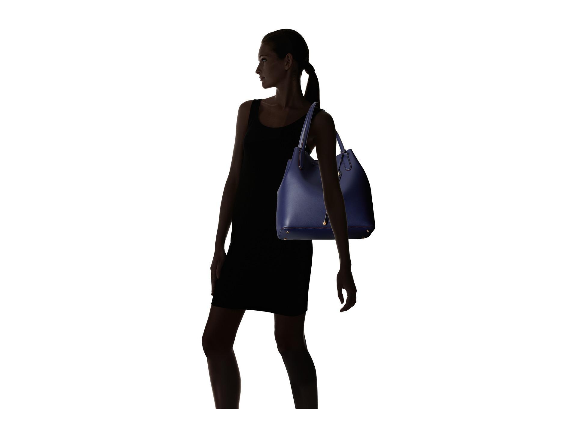 fea8d05056 Lyst - Lauren by Ralph Lauren Dryden Diana Tote in Blue