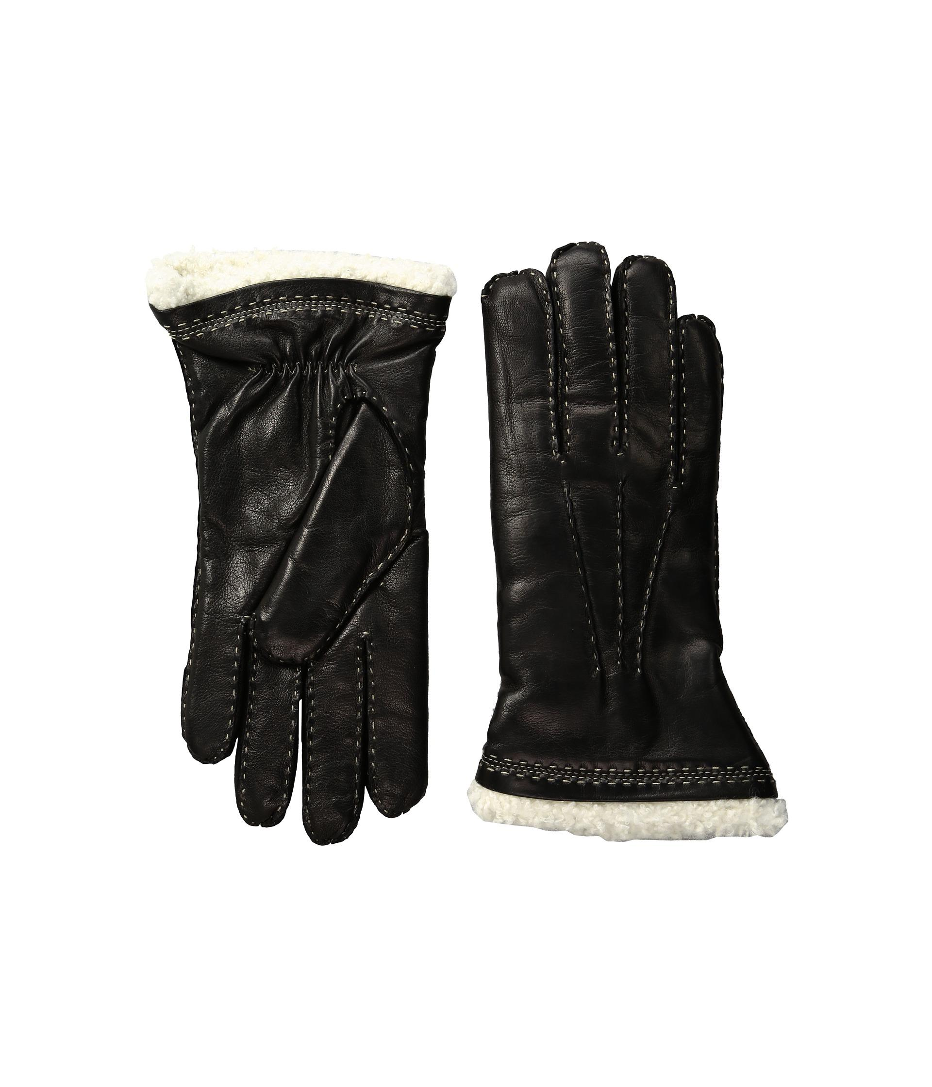 Claires black gloves - Hestra Women S Black Claire