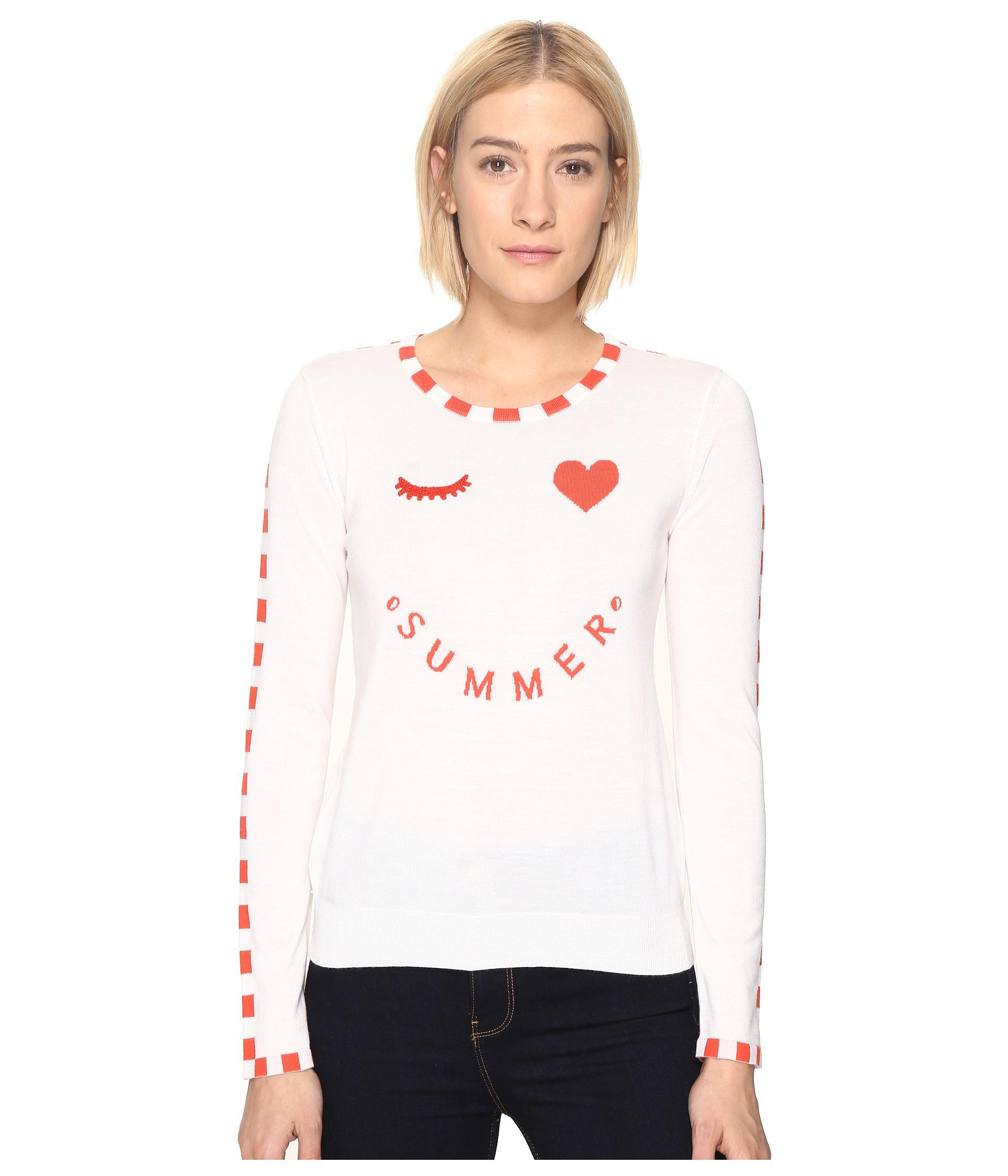 Paul smith Summer Sweater in White - Save 25% | Lyst