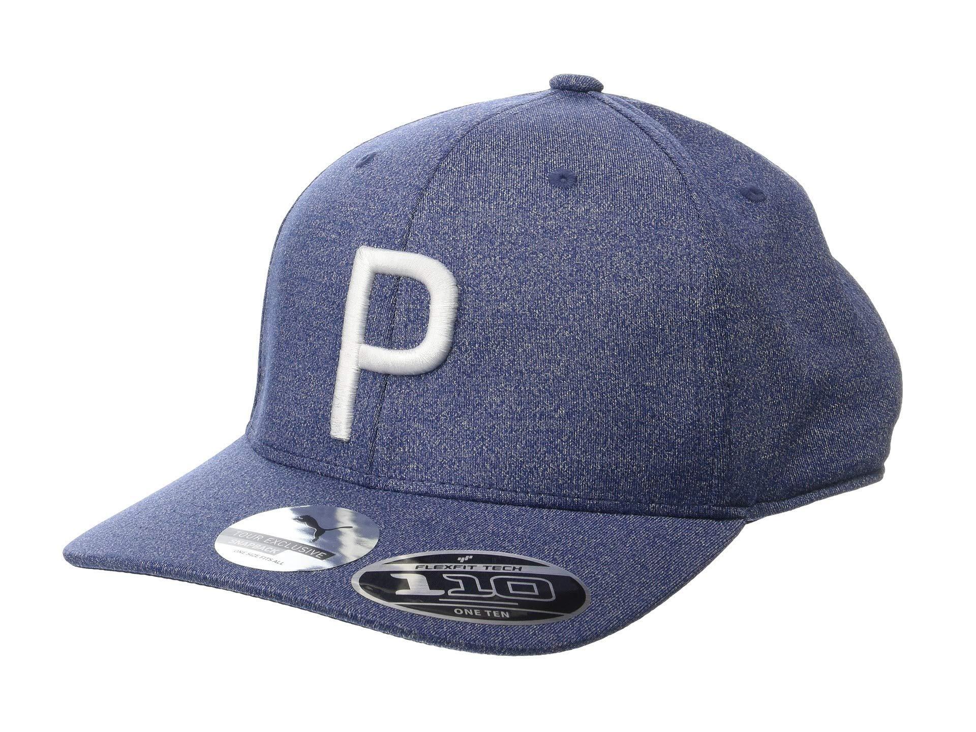 d46b3d804a0 Lyst - PUMA P 110 Snapback Cap (bright White Heather) Baseball Caps ...