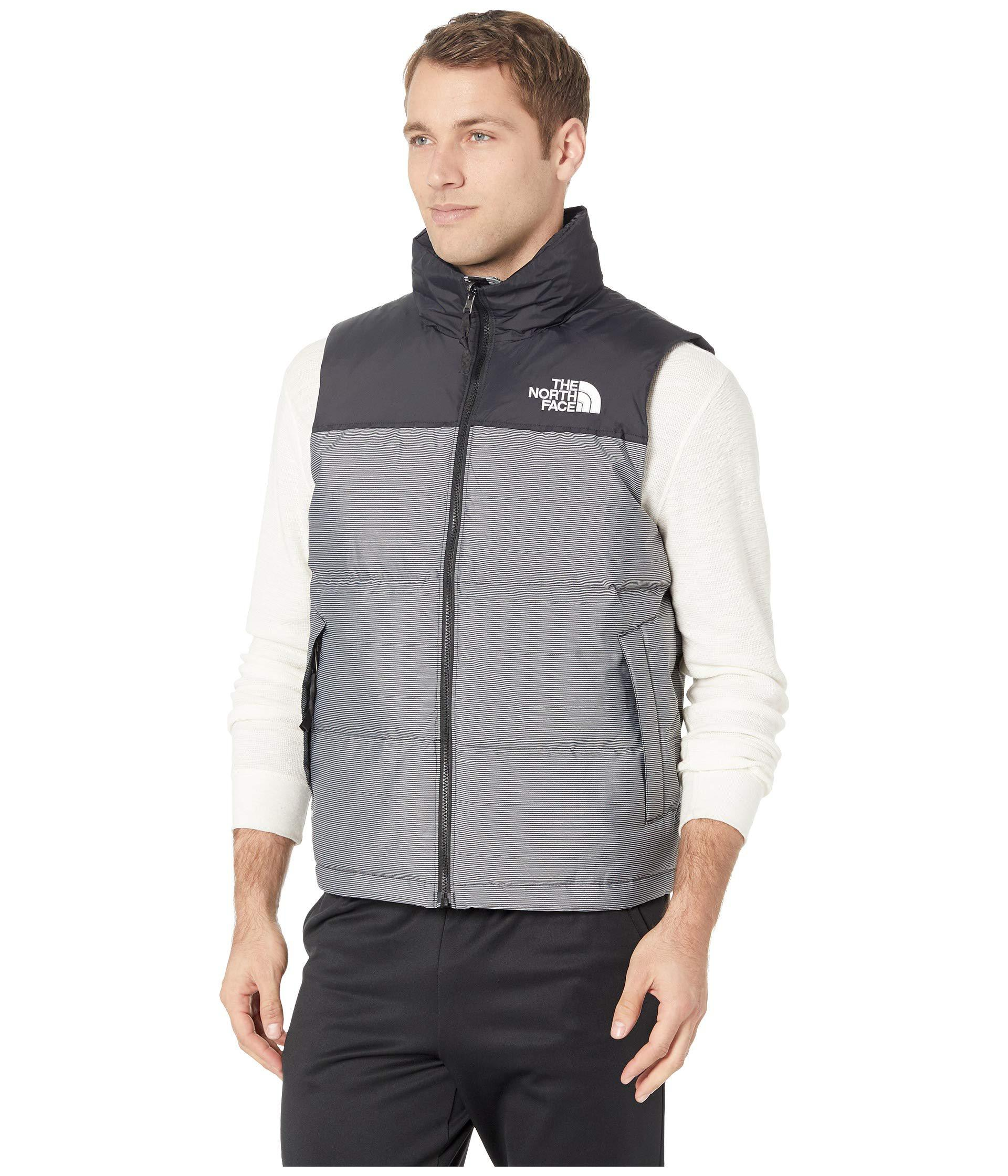 fd34c1583ba7 Lyst - The North Face 1996 Retro Novelty Nuptse Vest (tnf Black Multi  Dobby) Men s Vest in Black for Men