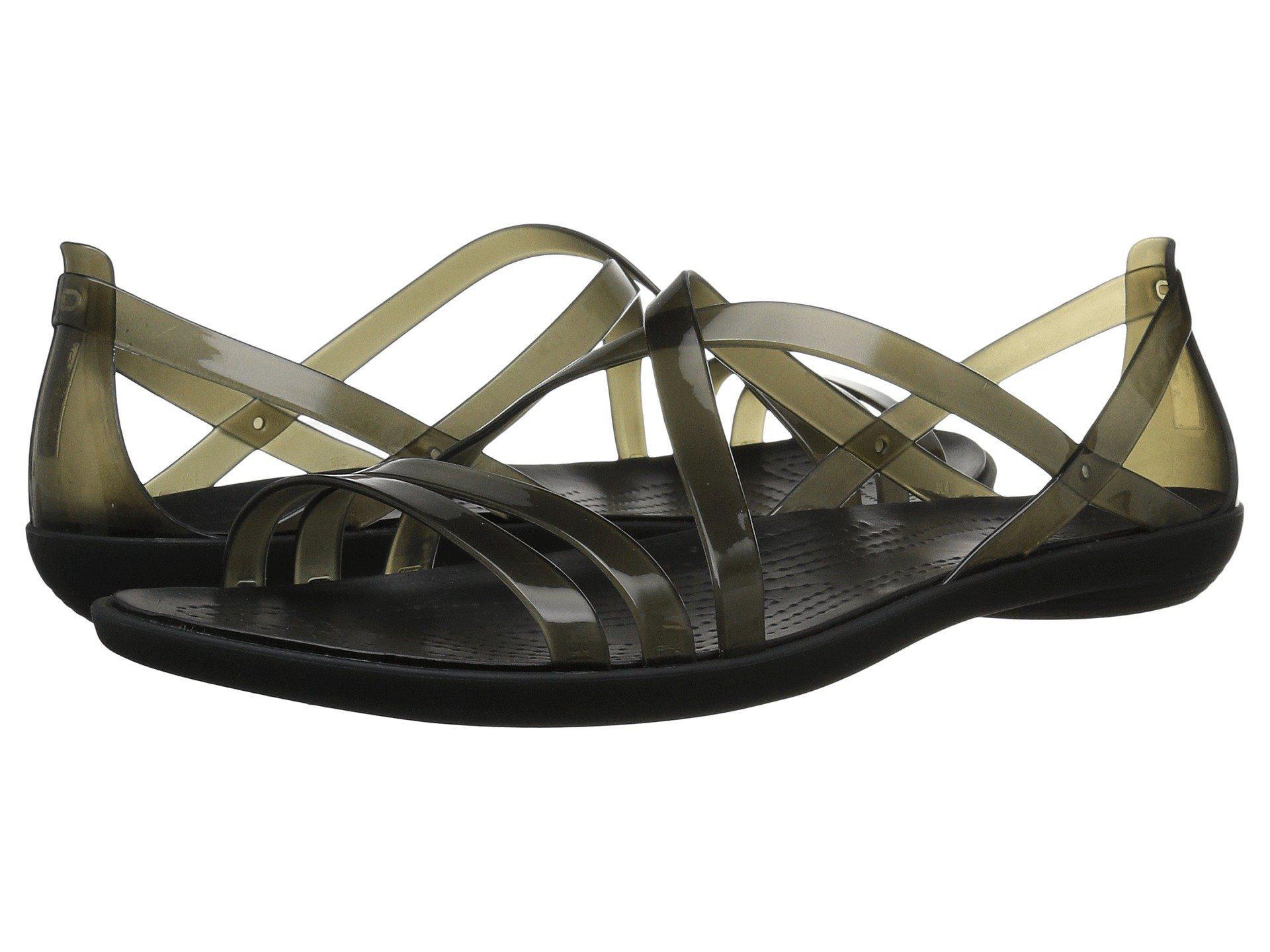 659b12659761 Lyst - Crocs™ Isabella Strappy Sandal W Sandals in Black - Save 50%
