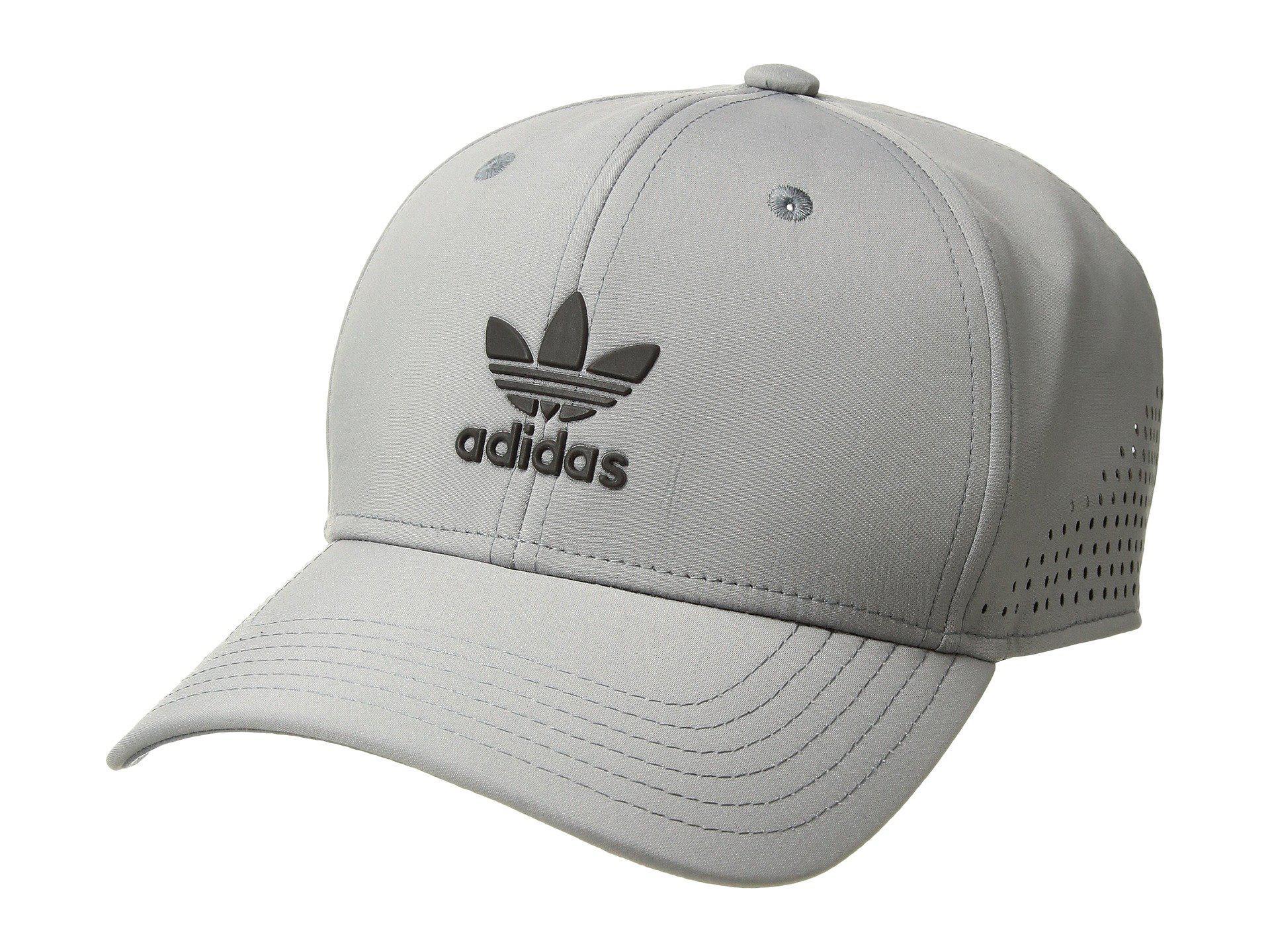 428f1783968 Lyst - adidas Originals Originals Tech Mesh Snapback (grey black ...