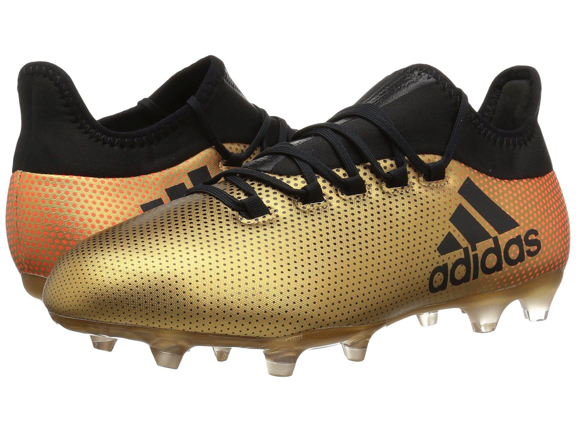 3d59fcbb5 Lyst - adidas X 17.2 Fg (tactile Gold black solar Red) Men s Soccer ...