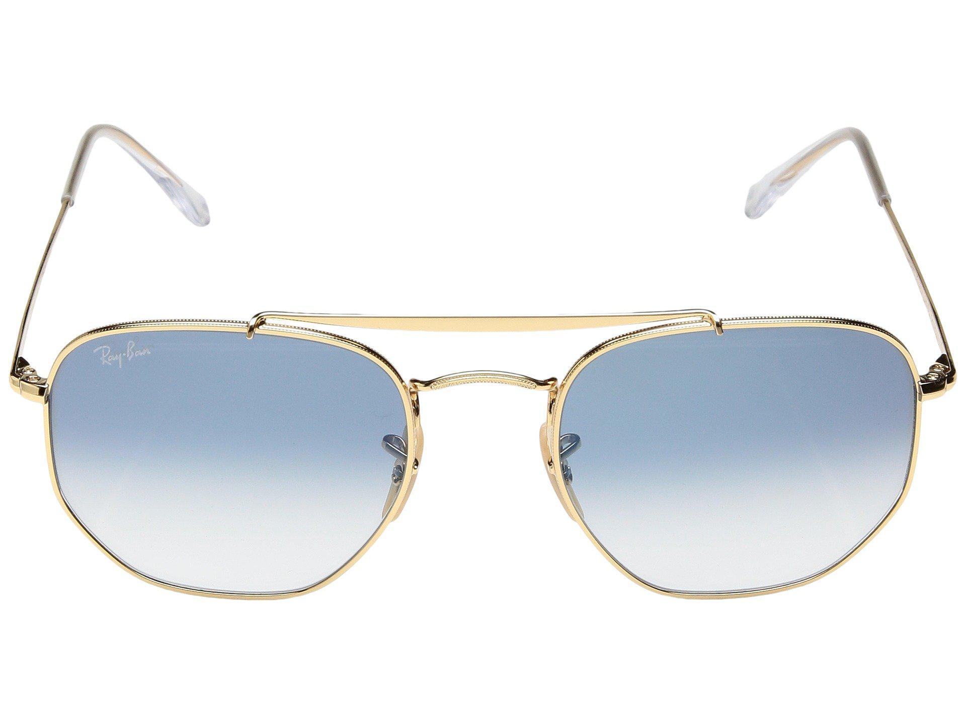 f18e6378c8 Ray-Ban - Blue Rb3648 Marshall 54mm (black grey Gradient) Fashion  Sunglasses. View fullscreen