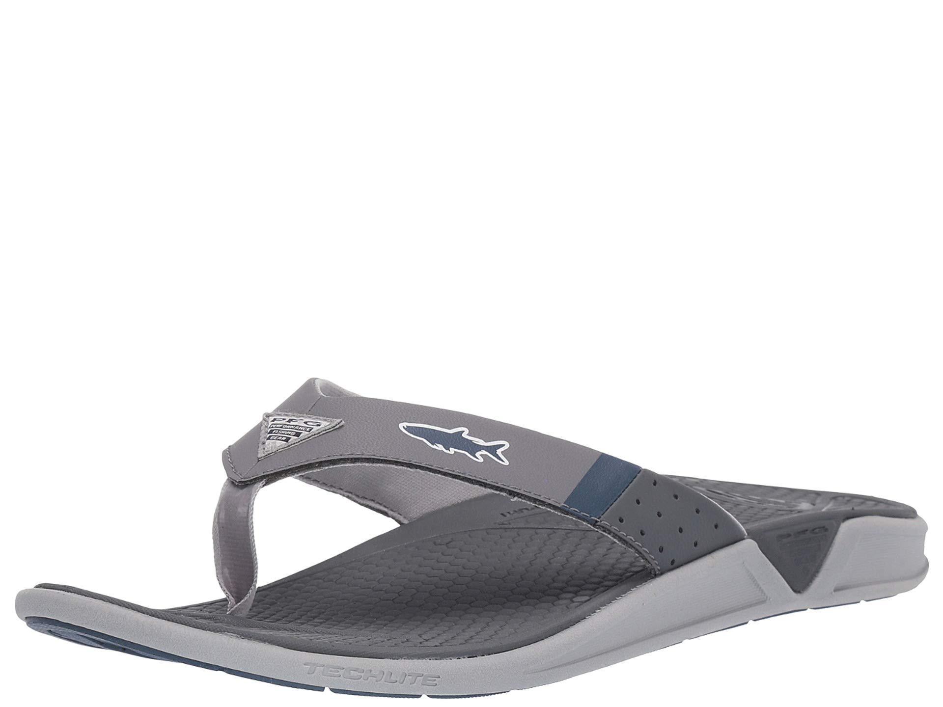 7aba8729935b Columbia - Gray Rostratm Pfg (black steam) Men s Sandals for Men - Lyst.  View fullscreen