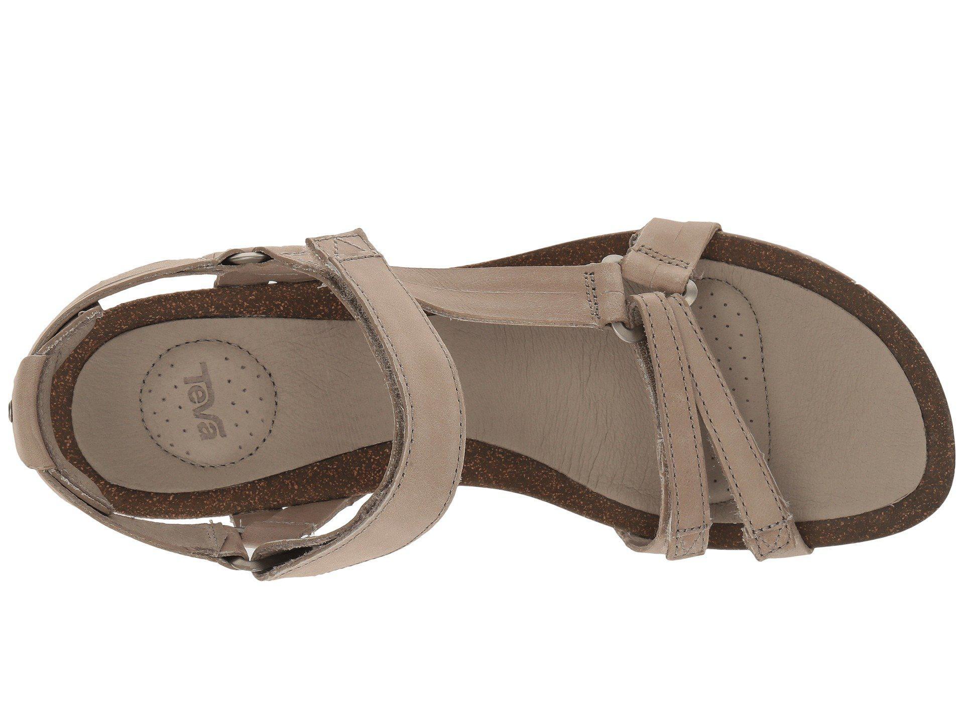 1a806382e6fd5 Teva - Brown Ysidro Universal Wedge (black) Women s Wedge Shoes - Lyst.  View fullscreen