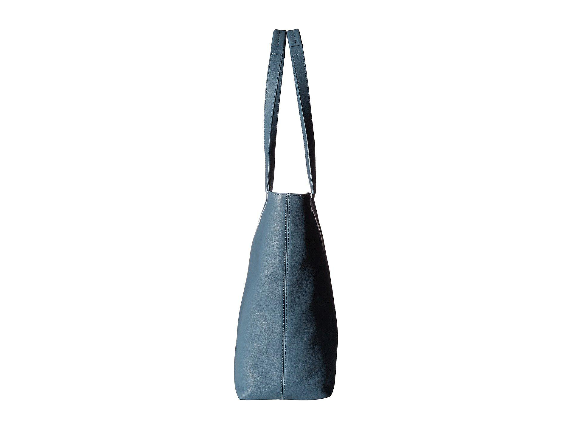 6b11087de Knomo Mayfair Luxe Maddox Top-zip Leather Tote in Blue - Lyst