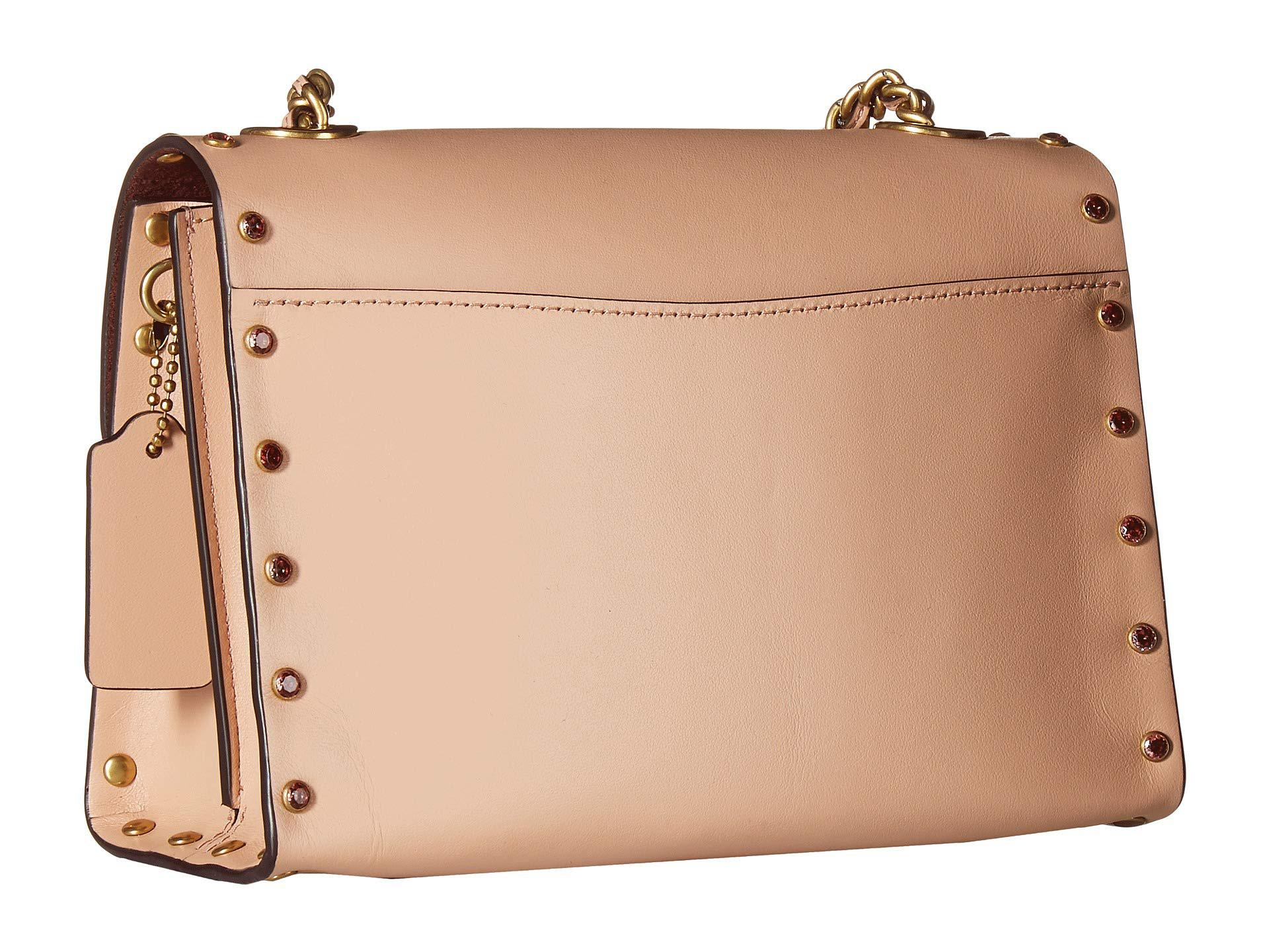 62912b463541 coach-B4Nude-Pink-Crystal-Border-Rivets-Parker-18-Shoulder-Bag-b4nude-Pink-Shoulder-Handbags.jpeg