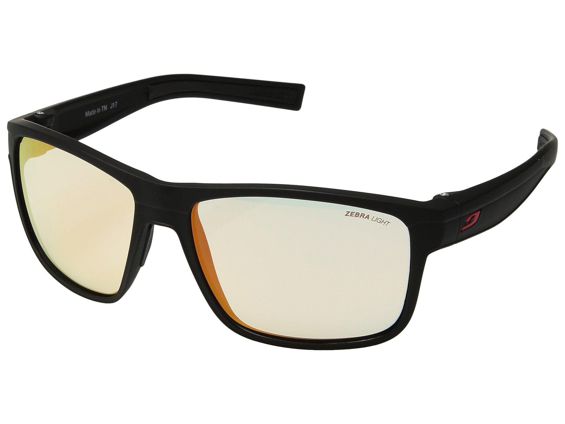 3723e8b1ff Julbo Eyewear. Men s Renegade (matte Black black) Athletic Performance  Sport Sunglasses