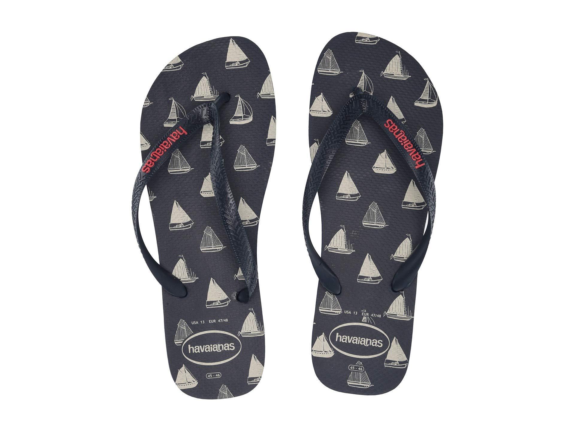 9e66012f348bbe Havaianas - Top Nautical Flip-flops (navy Blue navy Blue) Men s Sandals.  View fullscreen