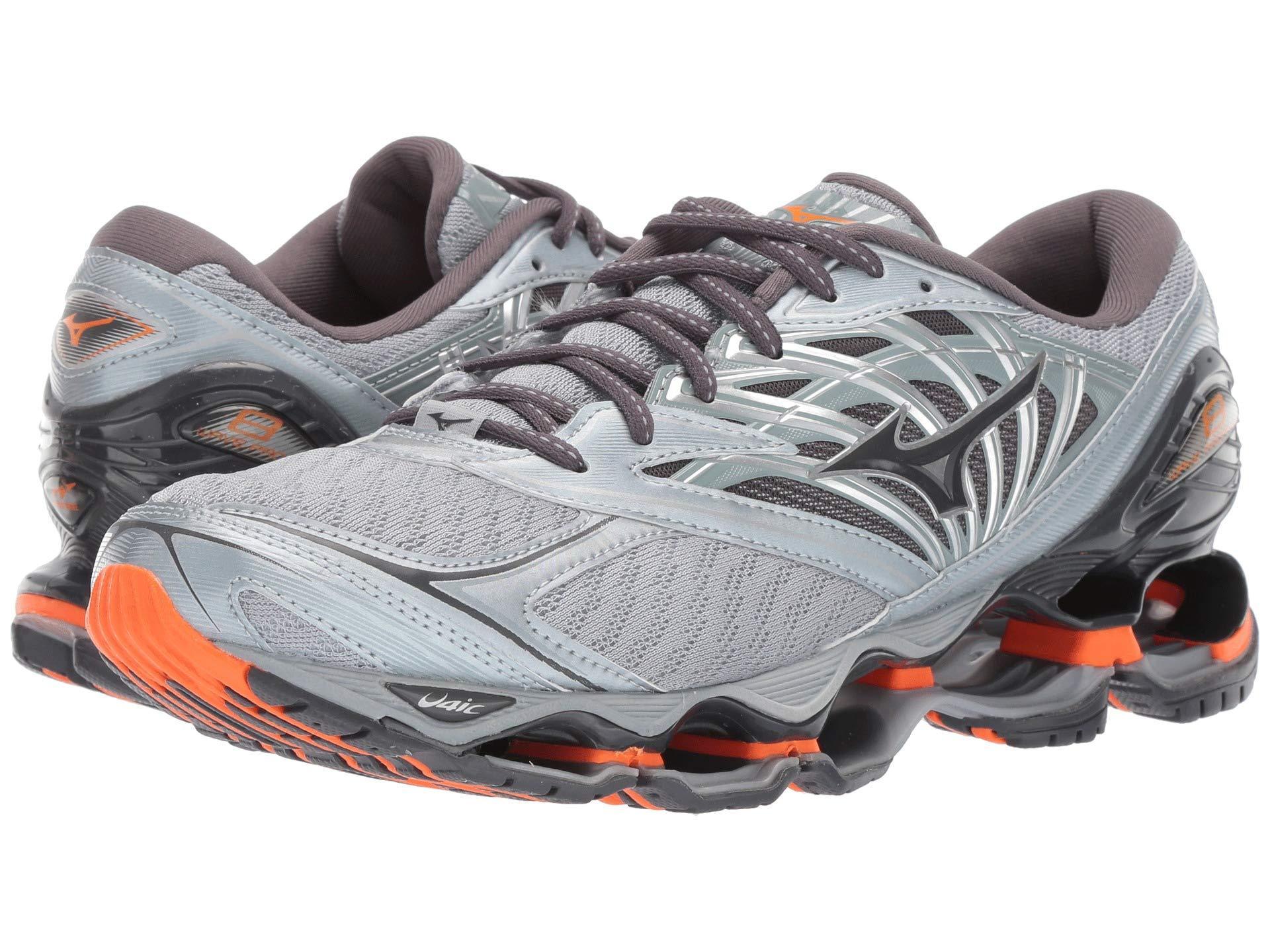 new style c675e 210bd Mizuno Wave Prophecy 8 (quarry graphite) Men s Running Shoes for Men ...