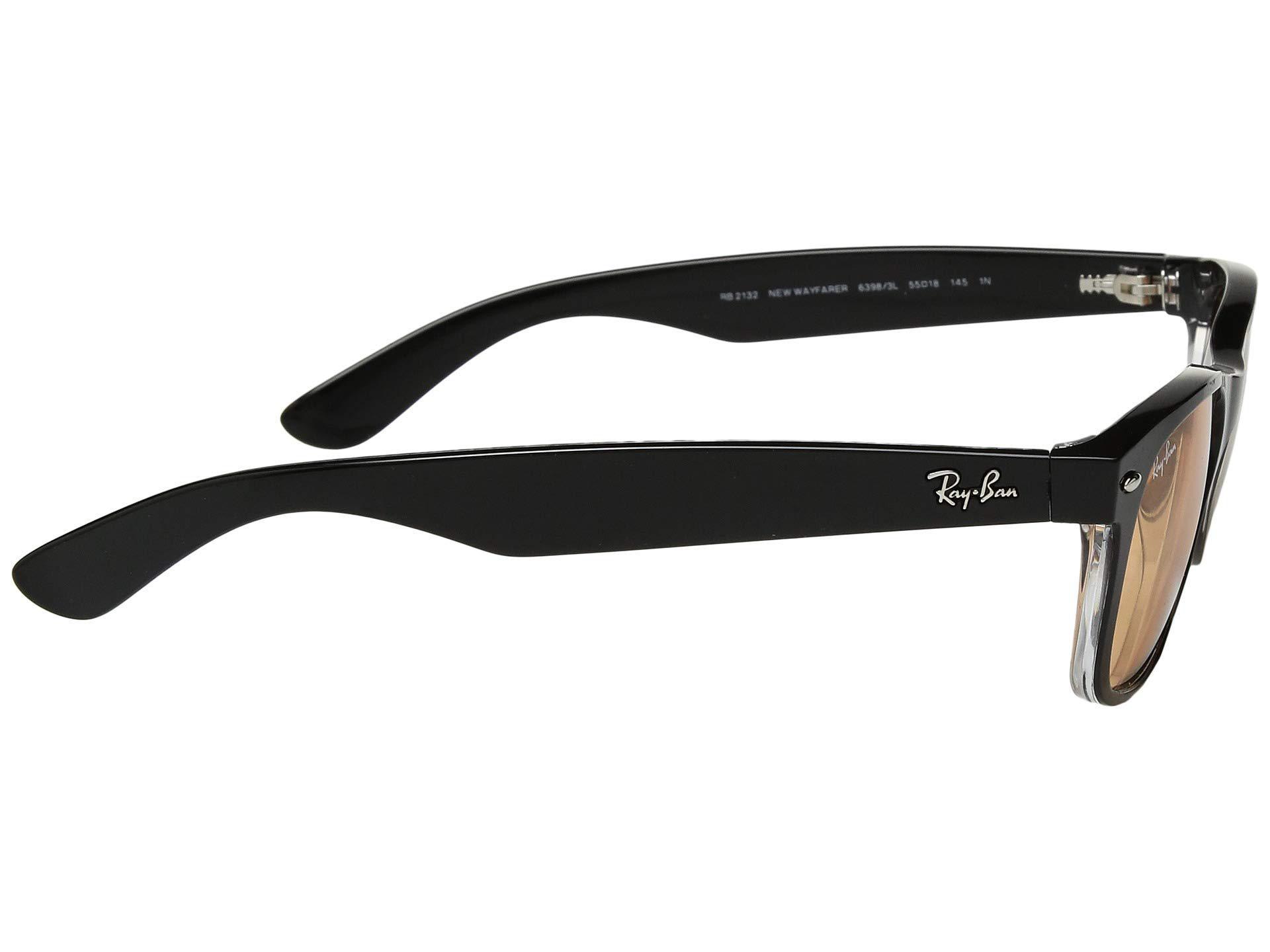 0b2f40f10e6 Ray-Ban - Green Rb2132 New Wayfarer 55mm (black g-15 Xlt. View fullscreen