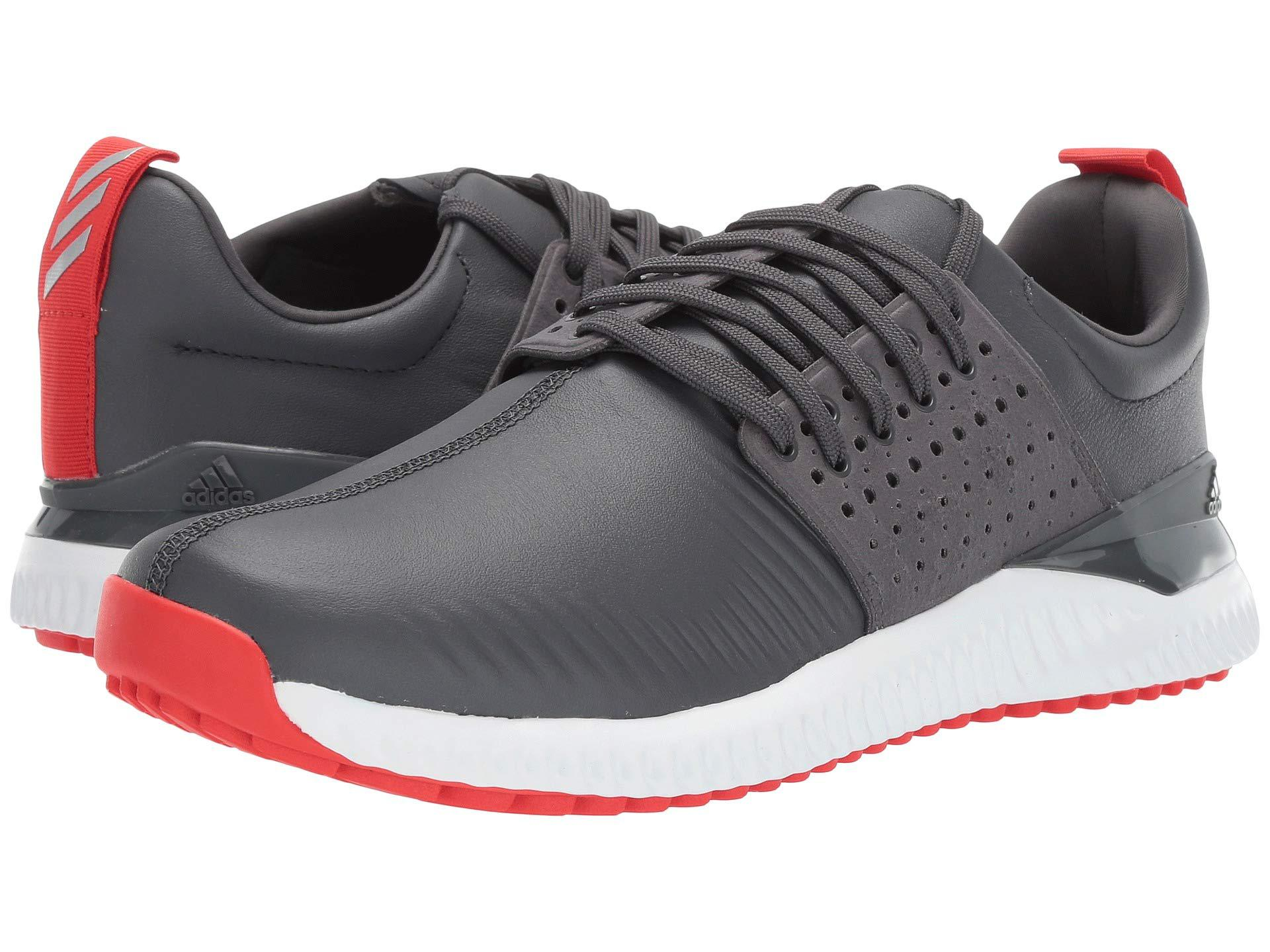 official photos 58b9c 77760 adidas Originals. Adicross Bounce (grey Sixactive Redfootwear White)  Mens Golf Shoes