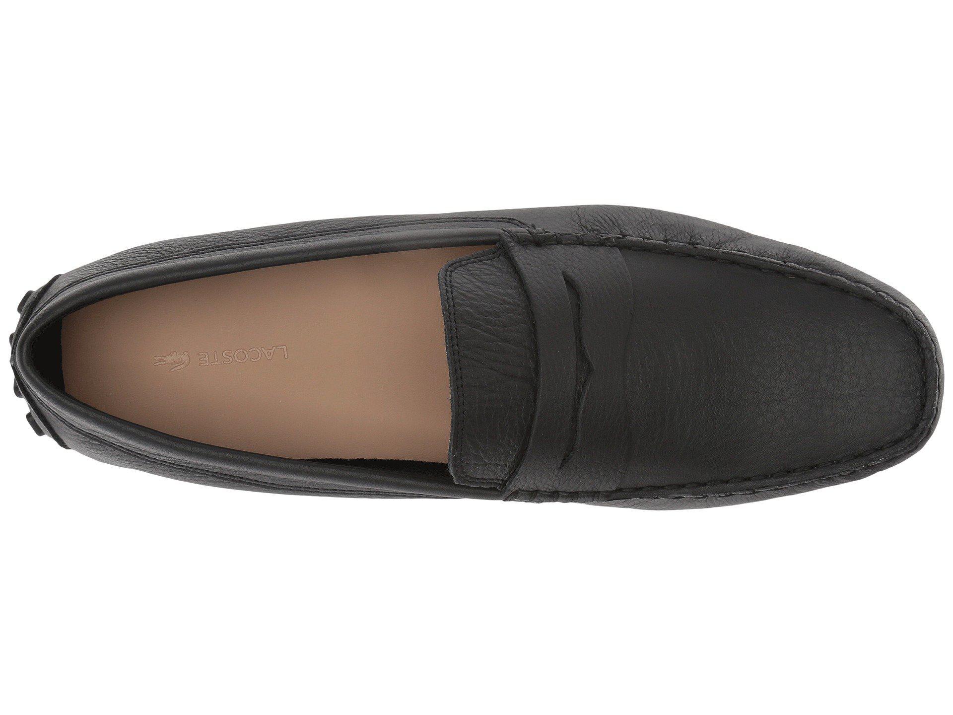 615ae60cd165 Lacoste - Black Concours 118 1 P (tan) Men s Shoes for Men - Lyst. View  fullscreen