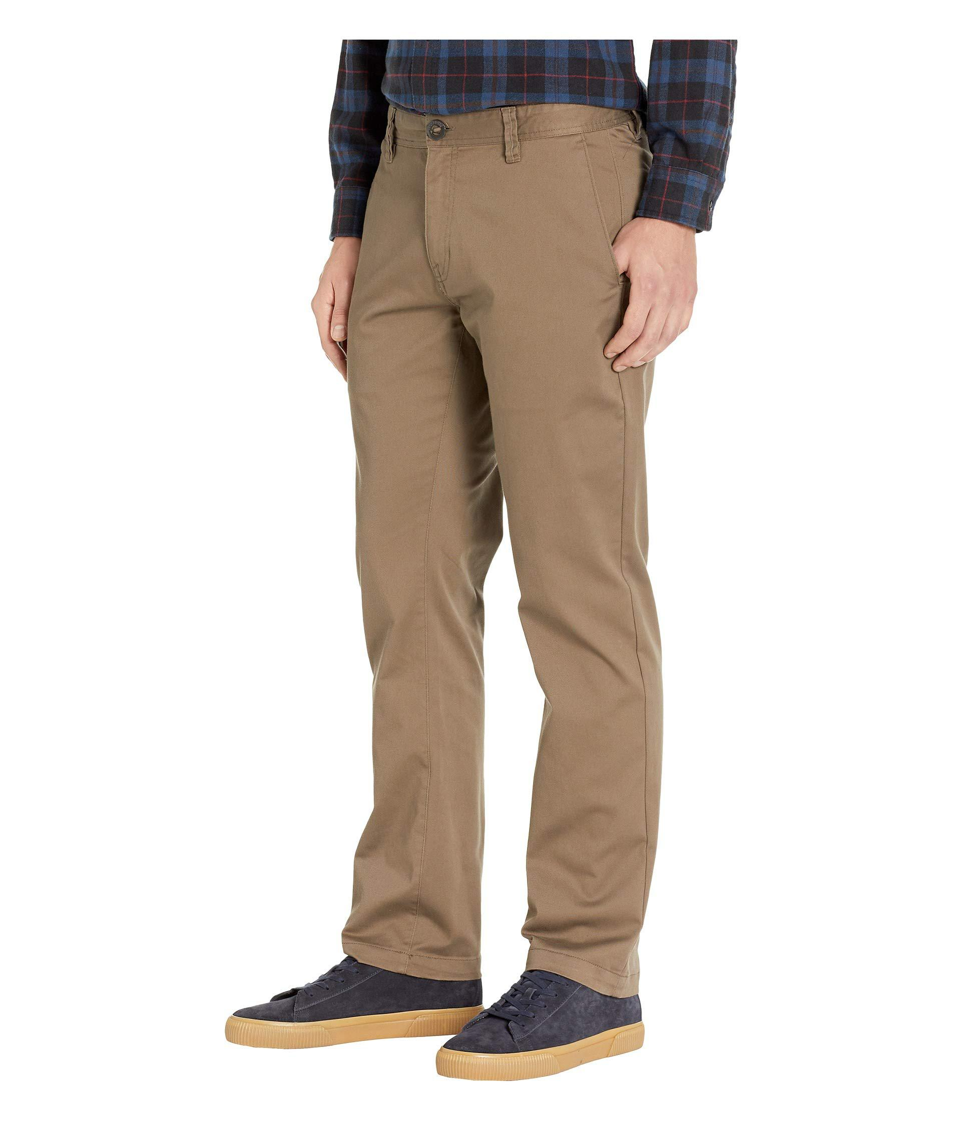 41898ce8 Lyst - Volcom Frickin Modern Stretch (mushroom) Men's Casual Pants in Brown  for Men