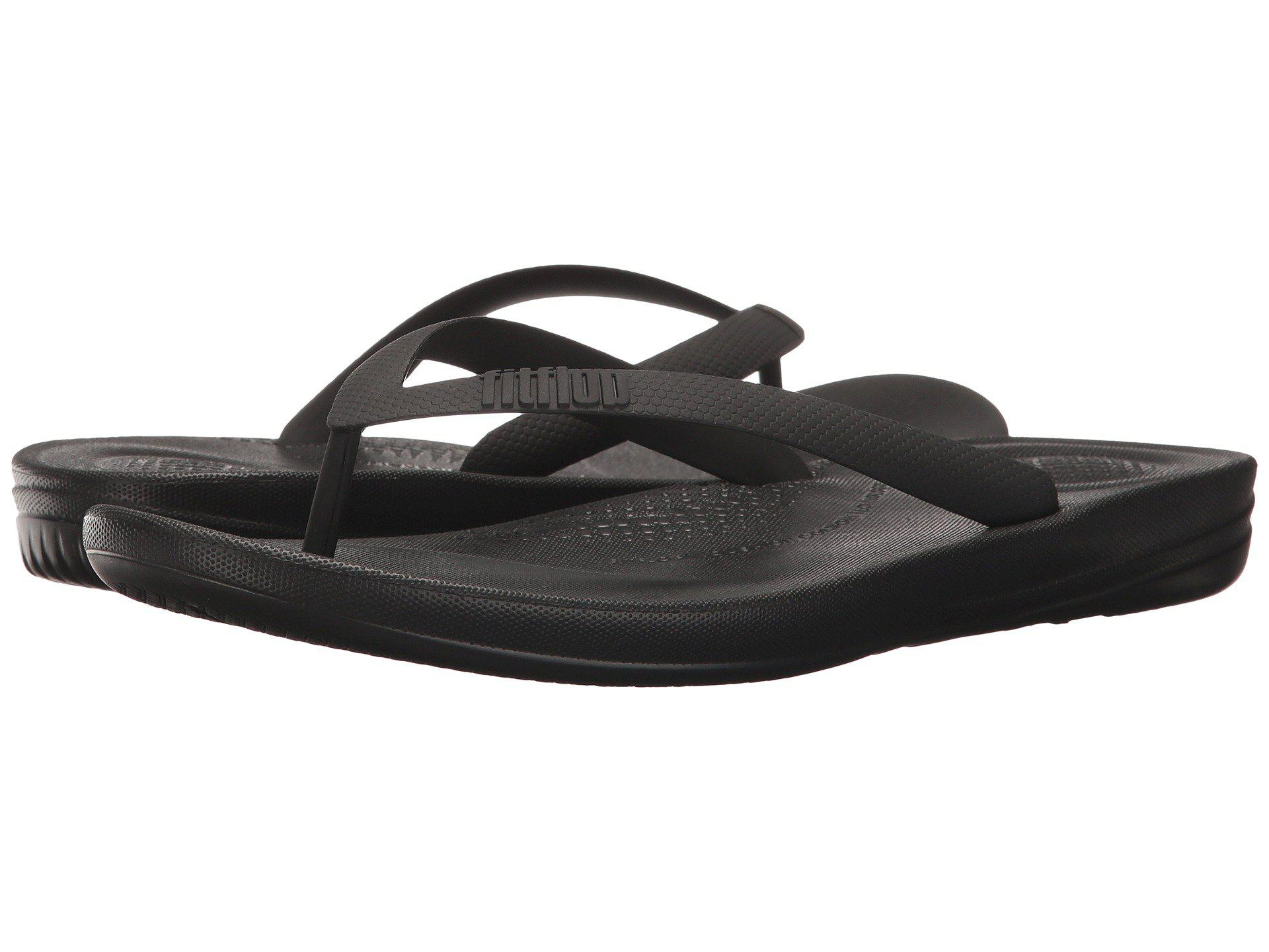 4c0293742d69 Lyst - Fitflop Iqushion Ergonomic Flip-flops (black) Men s Sandals ...