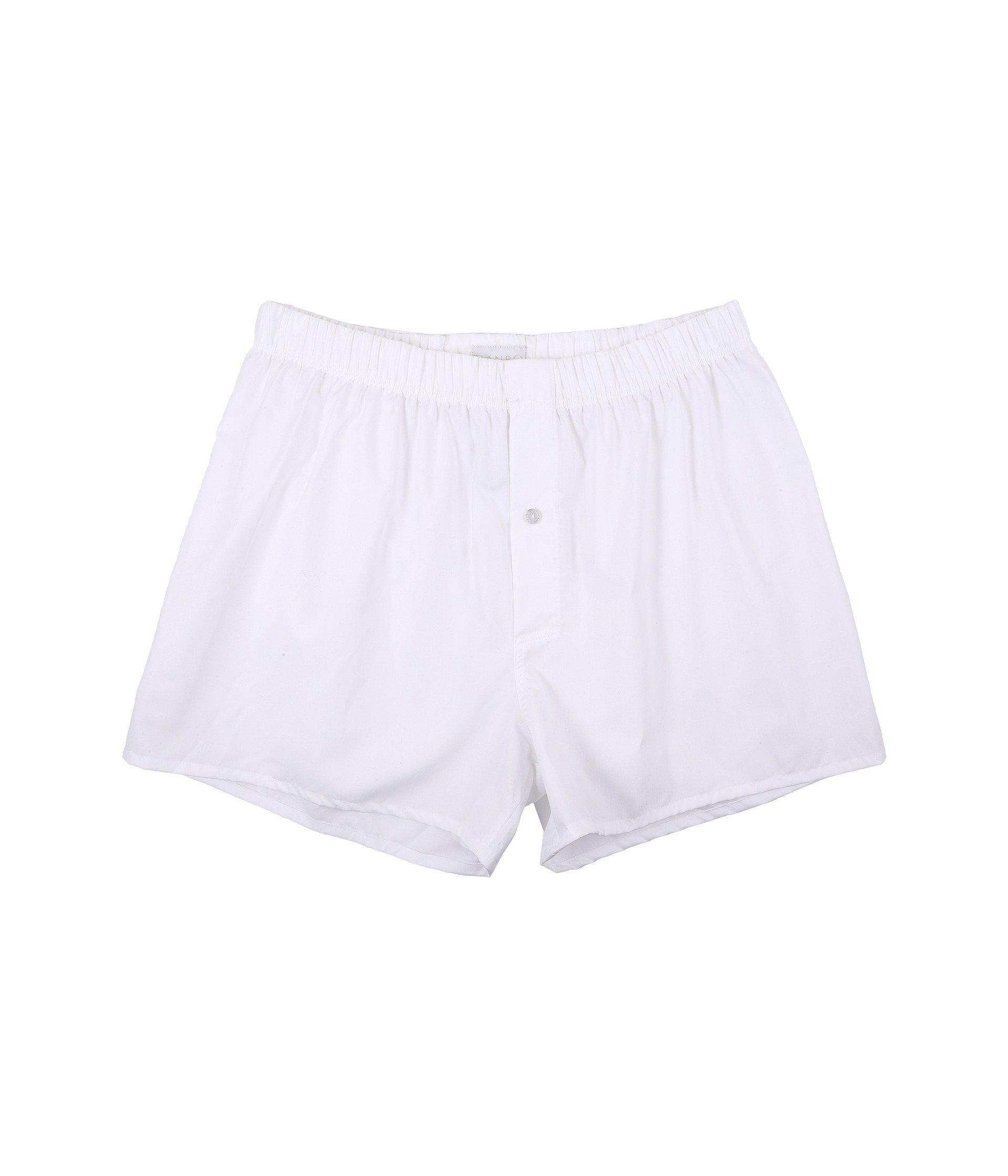 Hanro FANCY - Boxer - white xsHEi