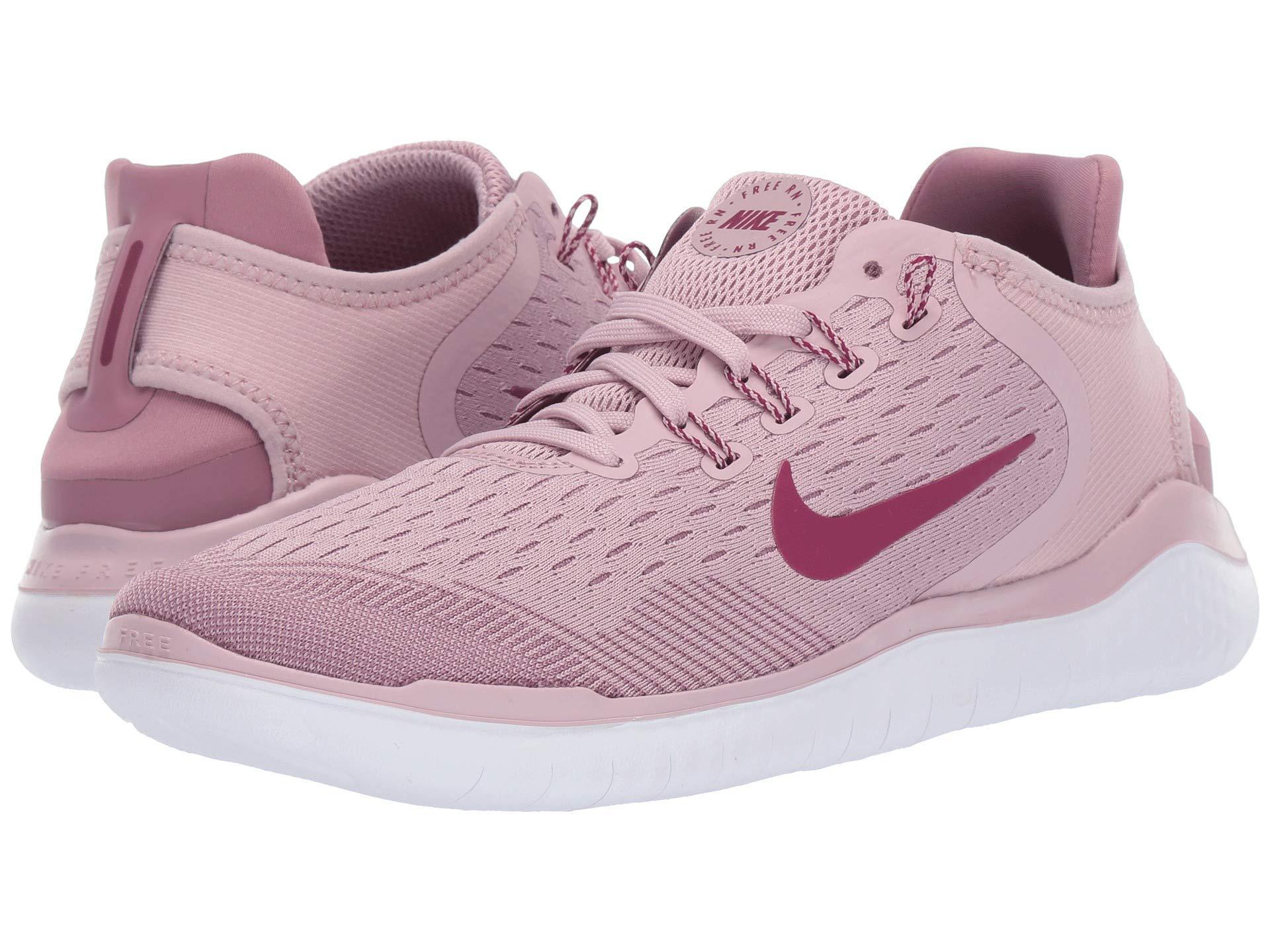 8e2ac4bd5 Nike Free Rn 2018 (plum Chalk/true Berry/plum Dust) Women's Running ...