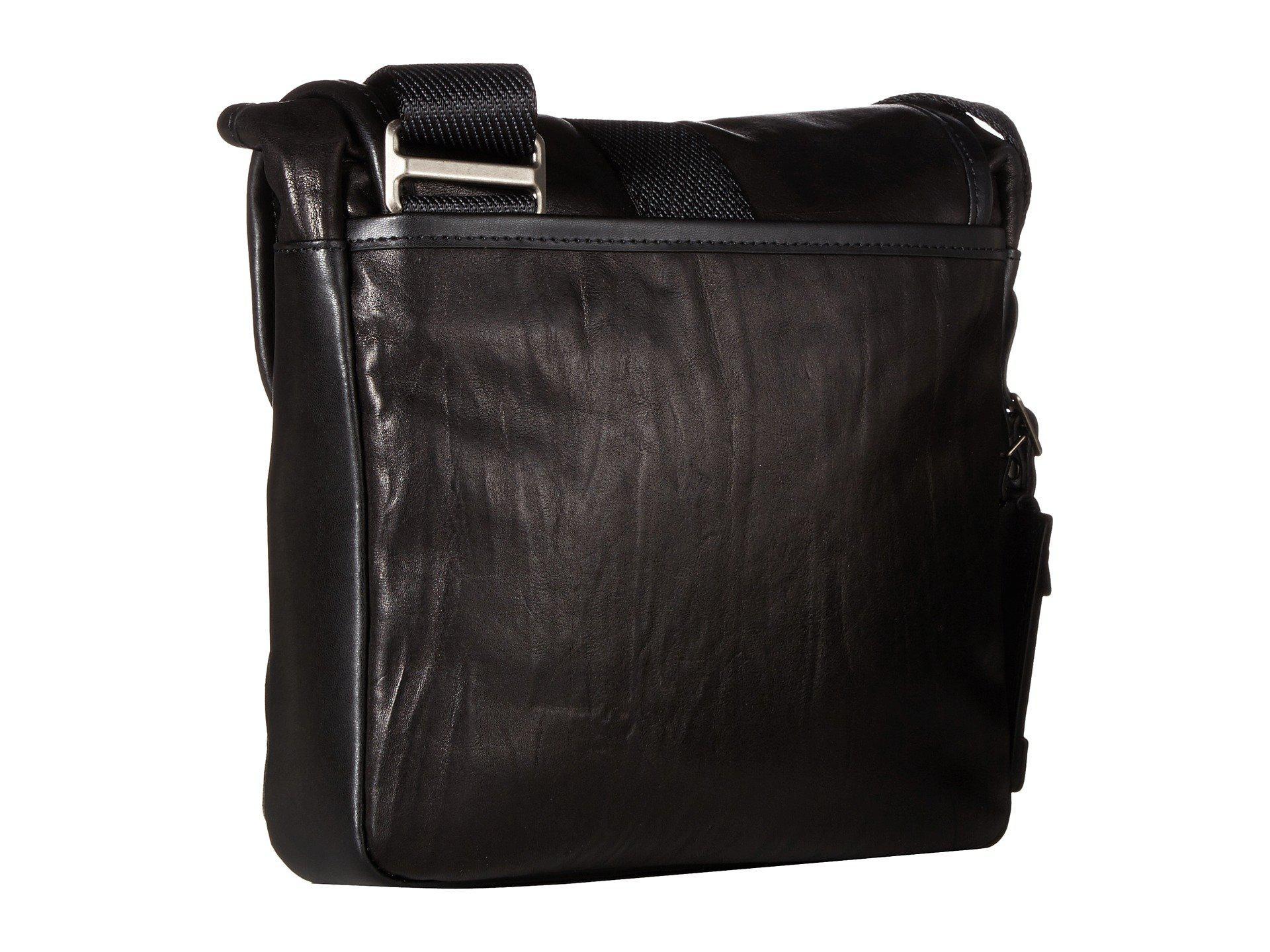 1db1e163c1 Lyst - Tumi Alpha Bravo Barton Leather Crossbody (black Leather ...