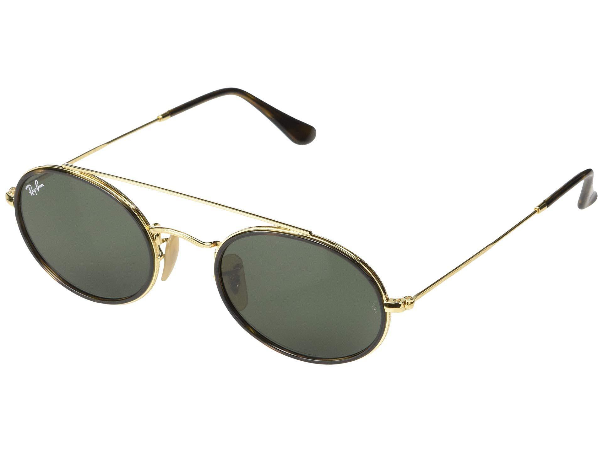 7ee25212b0 Ray-Ban. Women s Metallic Rb3847n 52 Mm. (gold blue Gradient) Fashion  Sunglasses