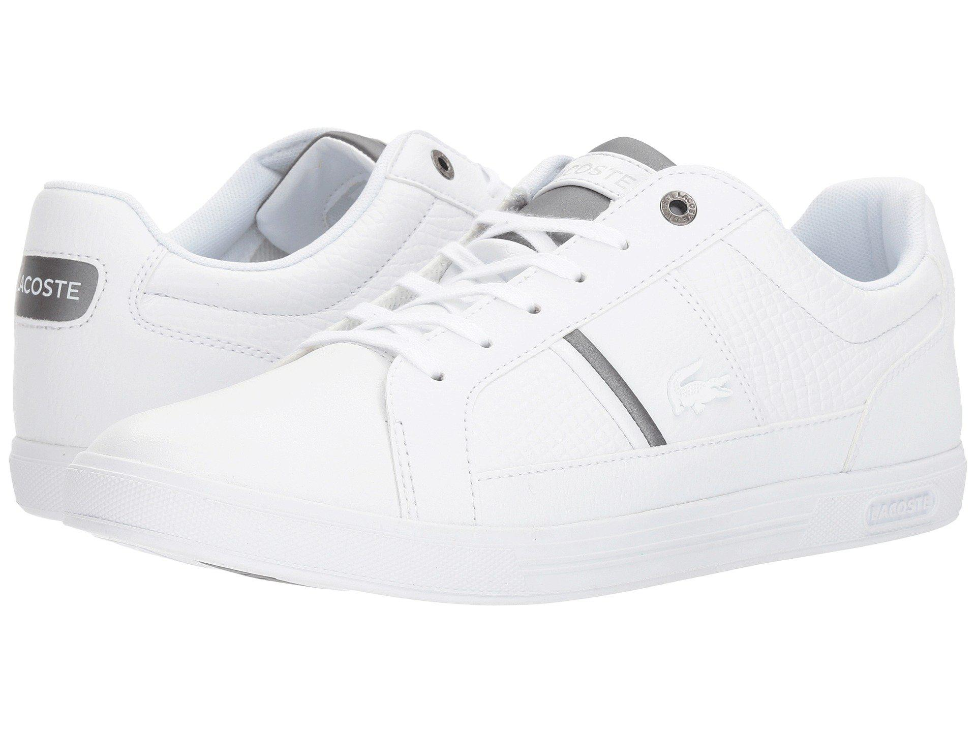 b2c36739f1a0e9 Lyst - Lacoste Europa 417 1 Sport (white) Men s Shoes in White for Men