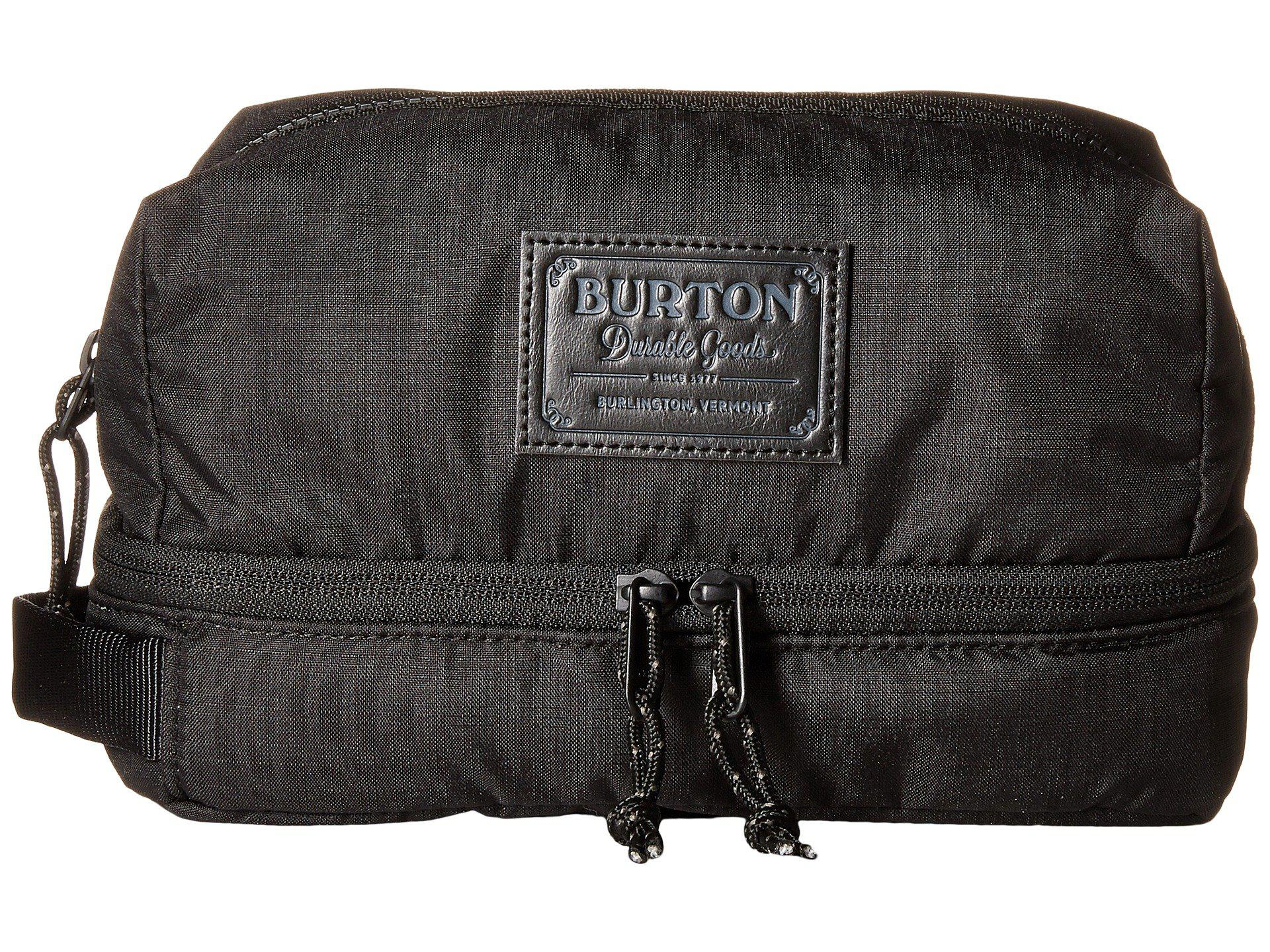 90179745fcd6 Lyst - Burton Low Maintenance Kit (clear) Travel Pouch in Black for Men