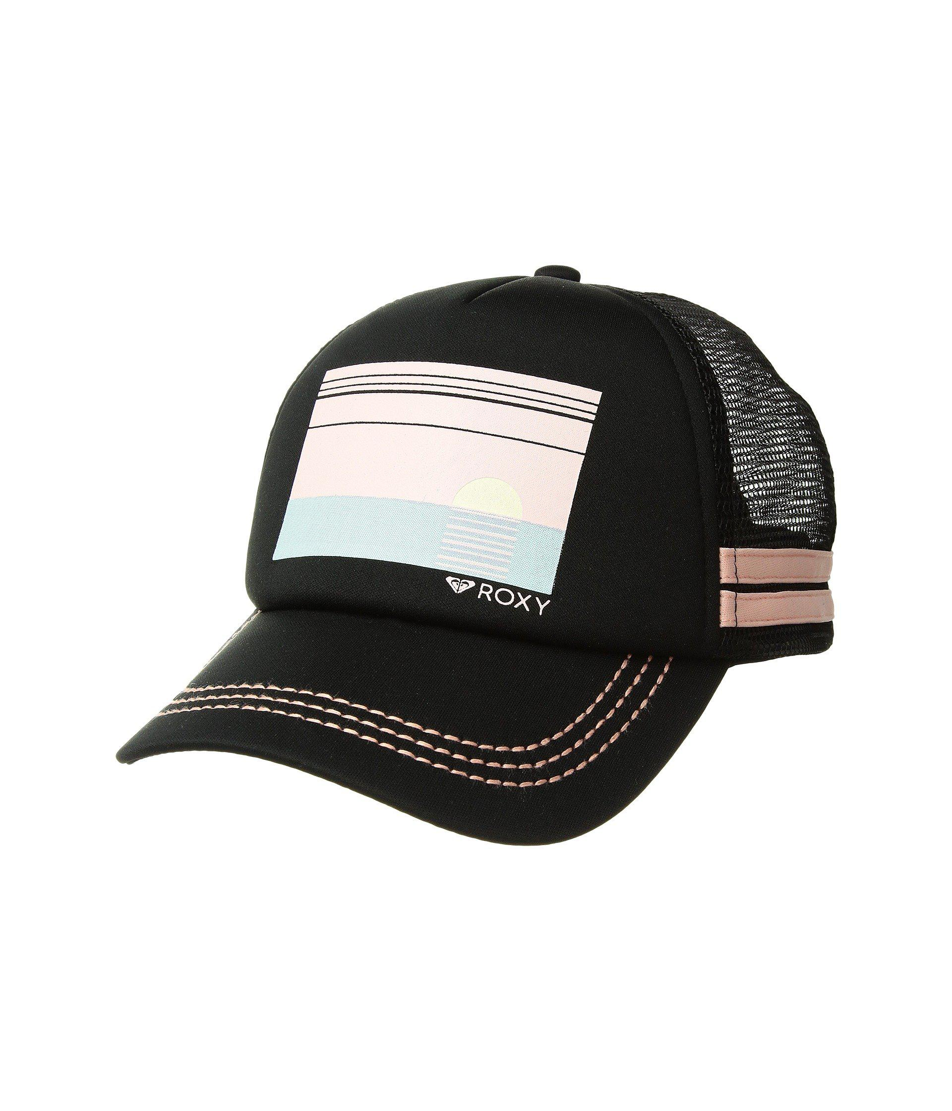 Lyst - Roxy Dig This Trucker Hat (lady Pink) Caps in Black c9697b0ee4f0