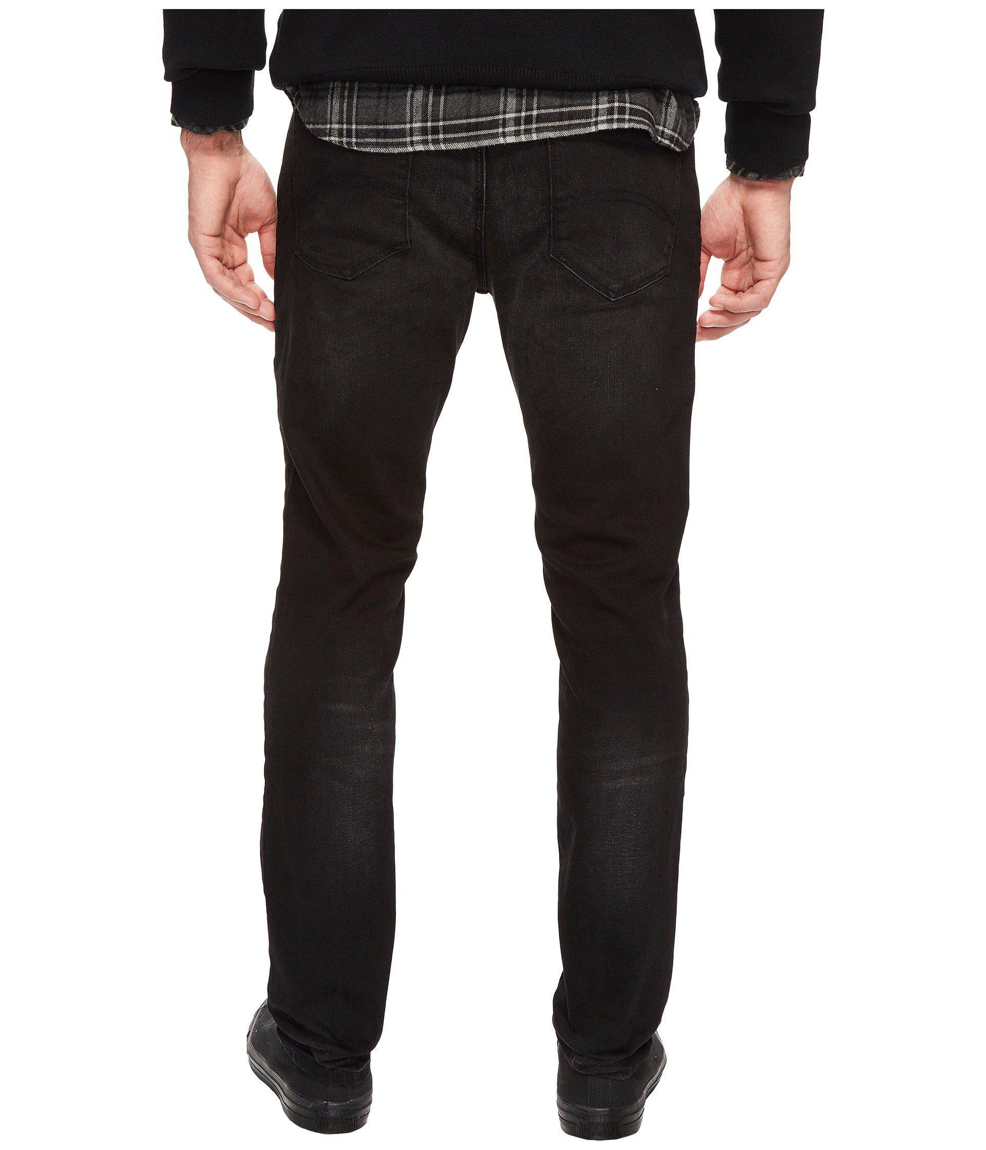 b799ddfd025f Lyst - Hilfiger Denim Slim Tapered Steve Jeans in Black for Men
