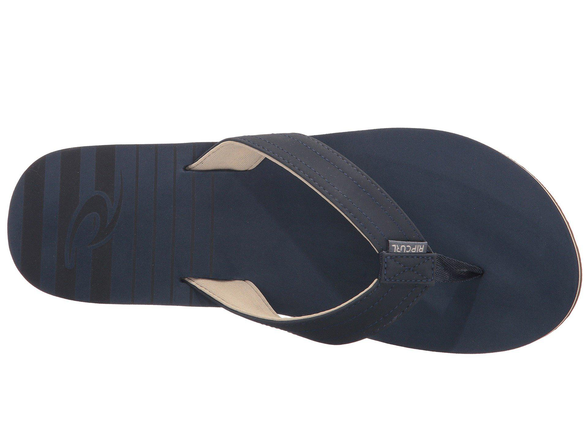 3a237dbb4debb1 Lyst - Rip Curl The Groove (charcoal) Men s Sandals in Blue for Men