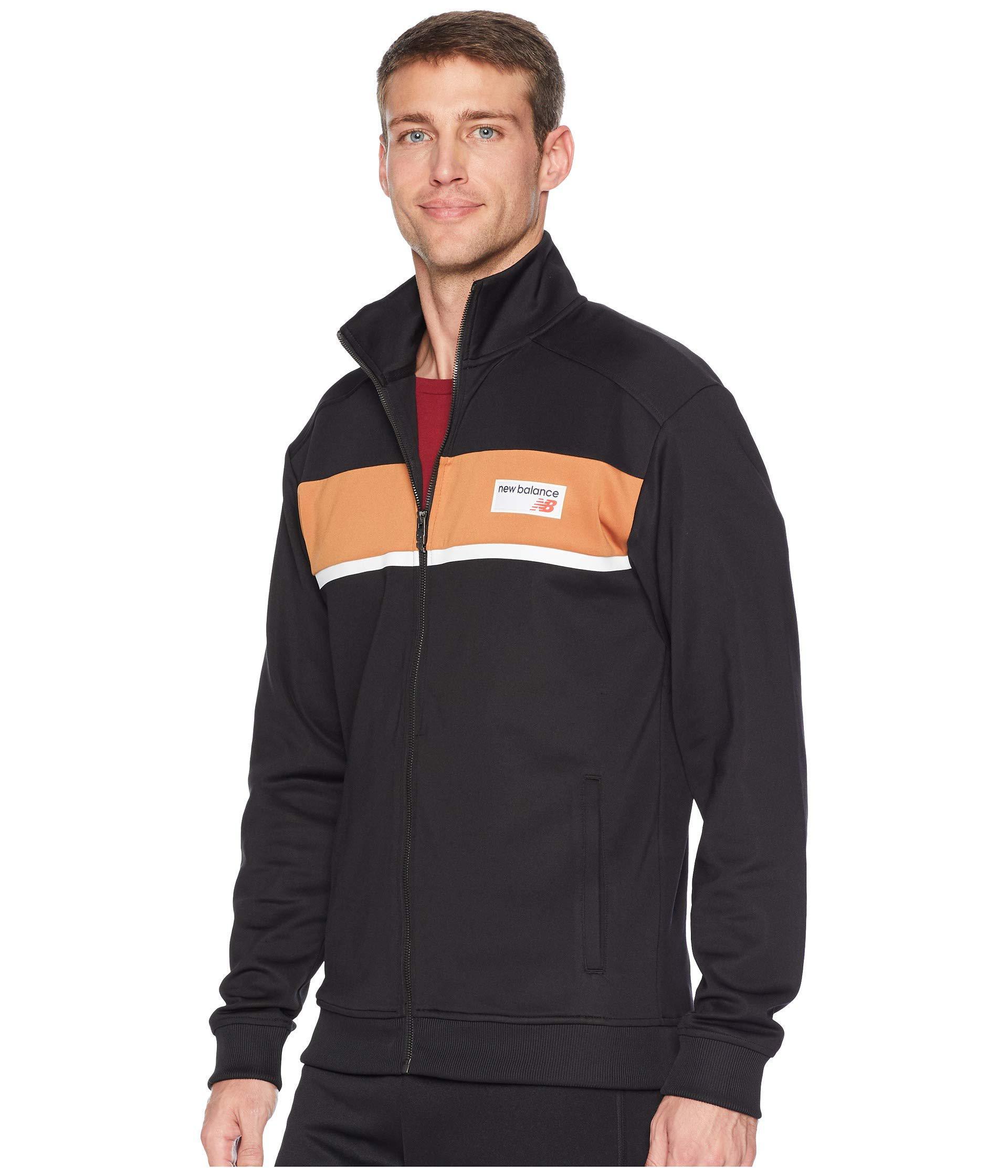 c17e77207efeb New Balance Nb Athletics Track Jacket (brown Sugar) Men's Coat in ...