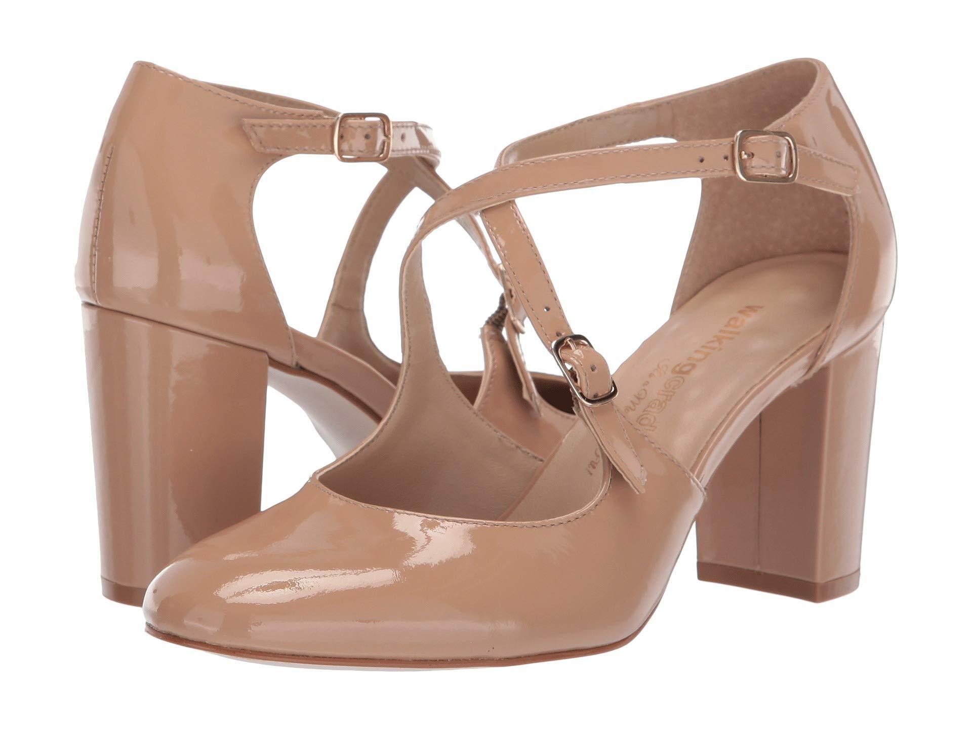 0417e32b5c Walking Cradles Mariah (nude Patent Leather) High Heels in Natural ...