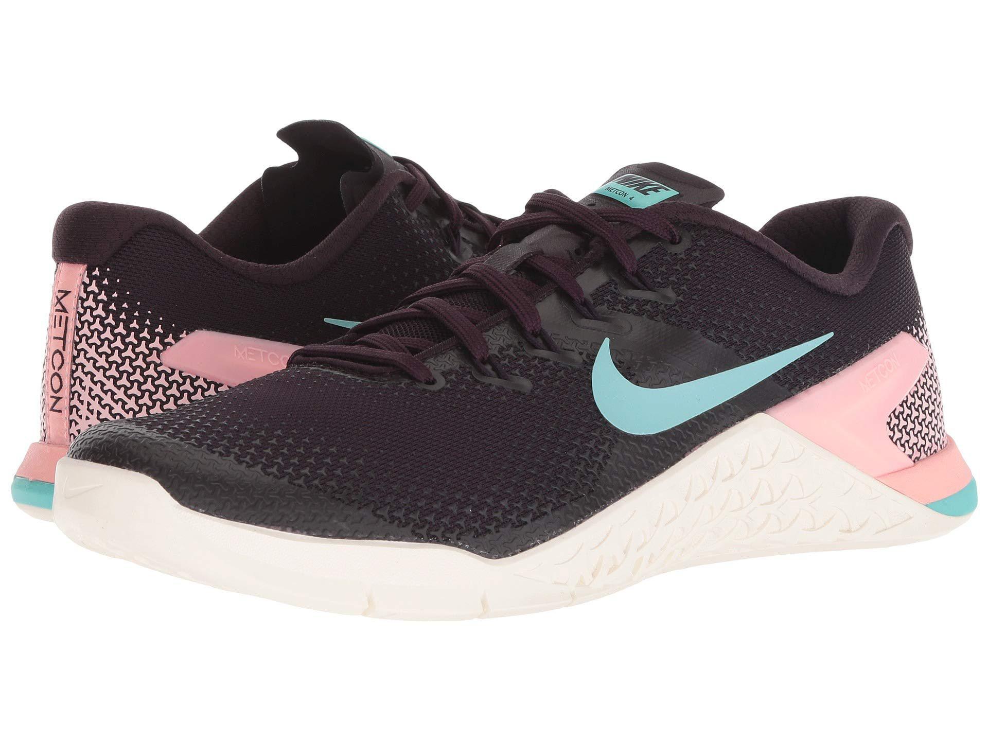 brand new 69473 d79bf Lyst - Nike Metcon 4 (black metallic Silver white volt Glow) Women s ...
