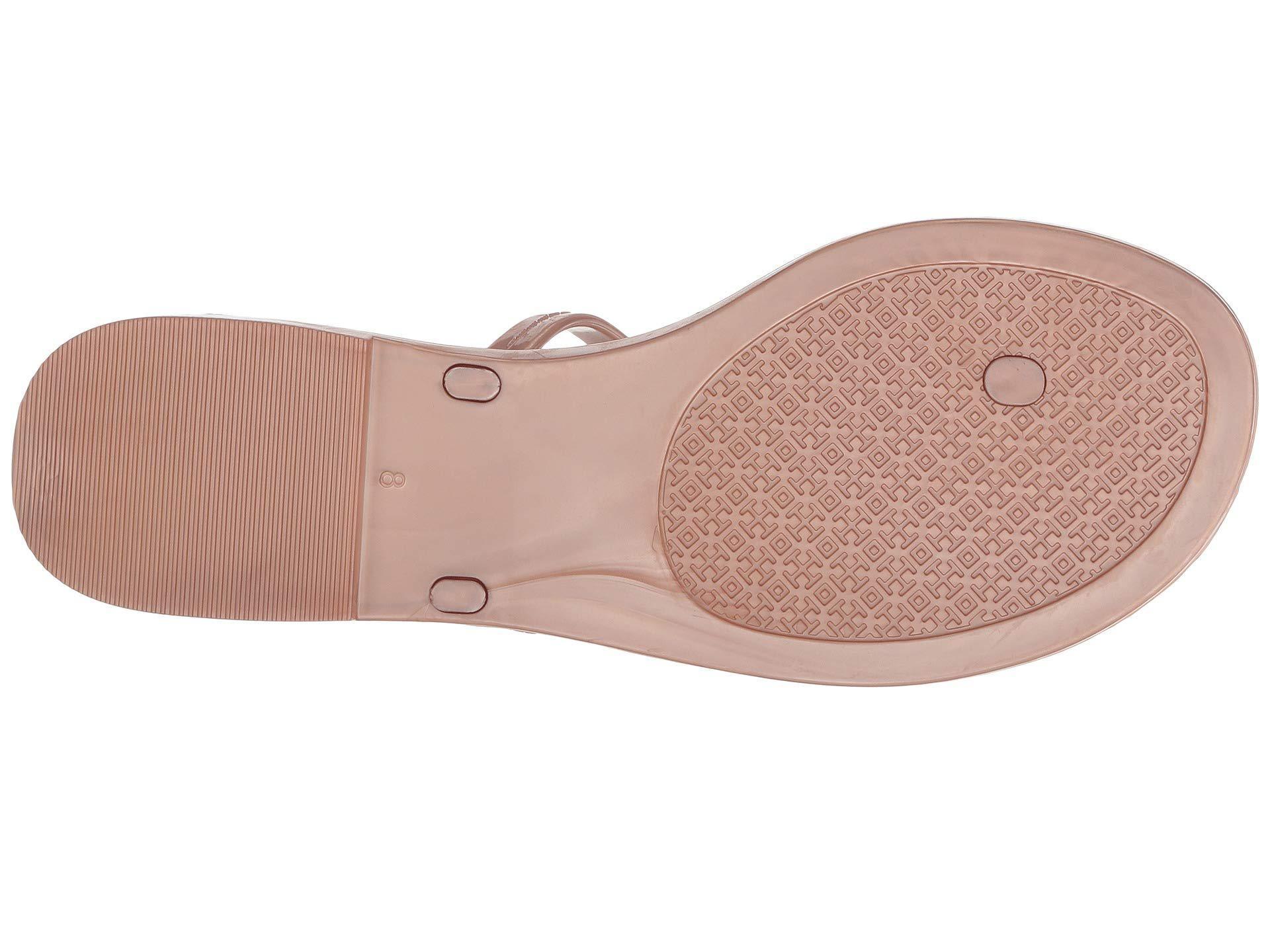 a082a8c6103a Tory Burch - Pink Mini Miller Flat Thong (black 1) Women s Sandals - Lyst.  View fullscreen