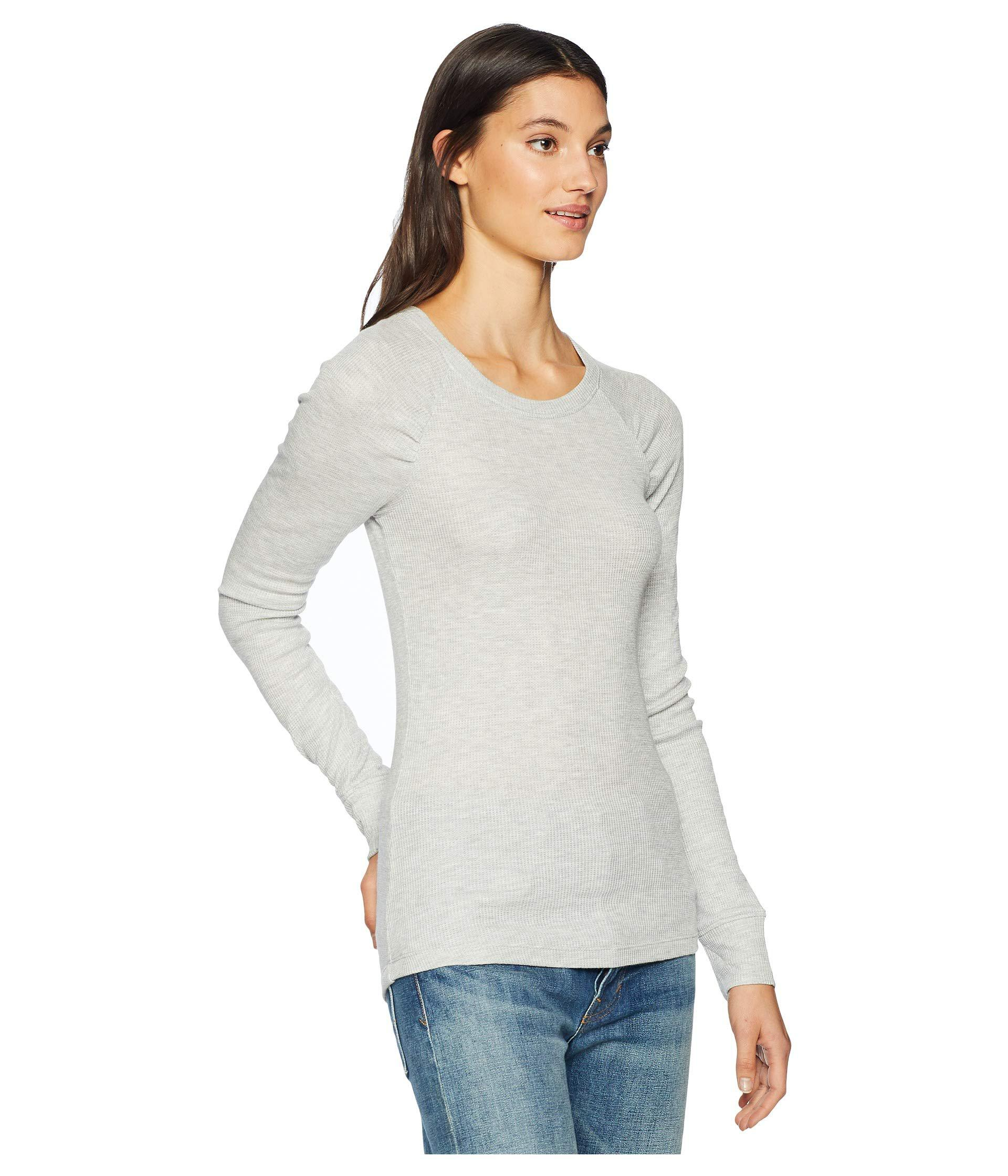 dffe64b63c895e Lyst - Sanctuary Kenzie Ruched Top (scarlet) Women s Clothing in Gray