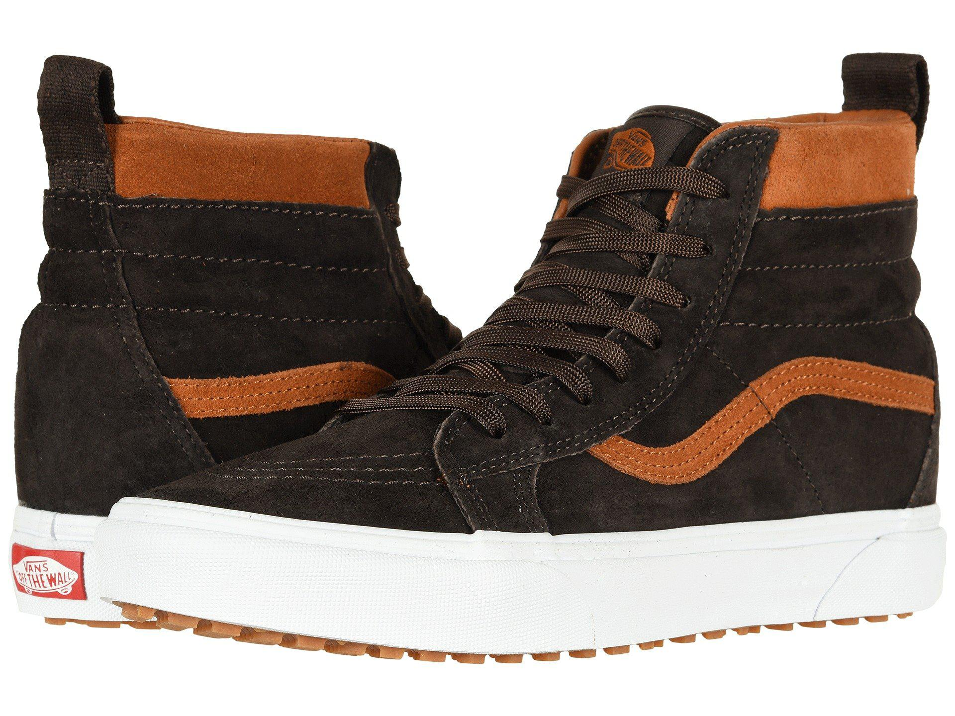 8a9c3e18b6b28f Lyst - Vans Sk8-hi Mte ((mte) Suede chocolate Torte) Skate Shoes in ...