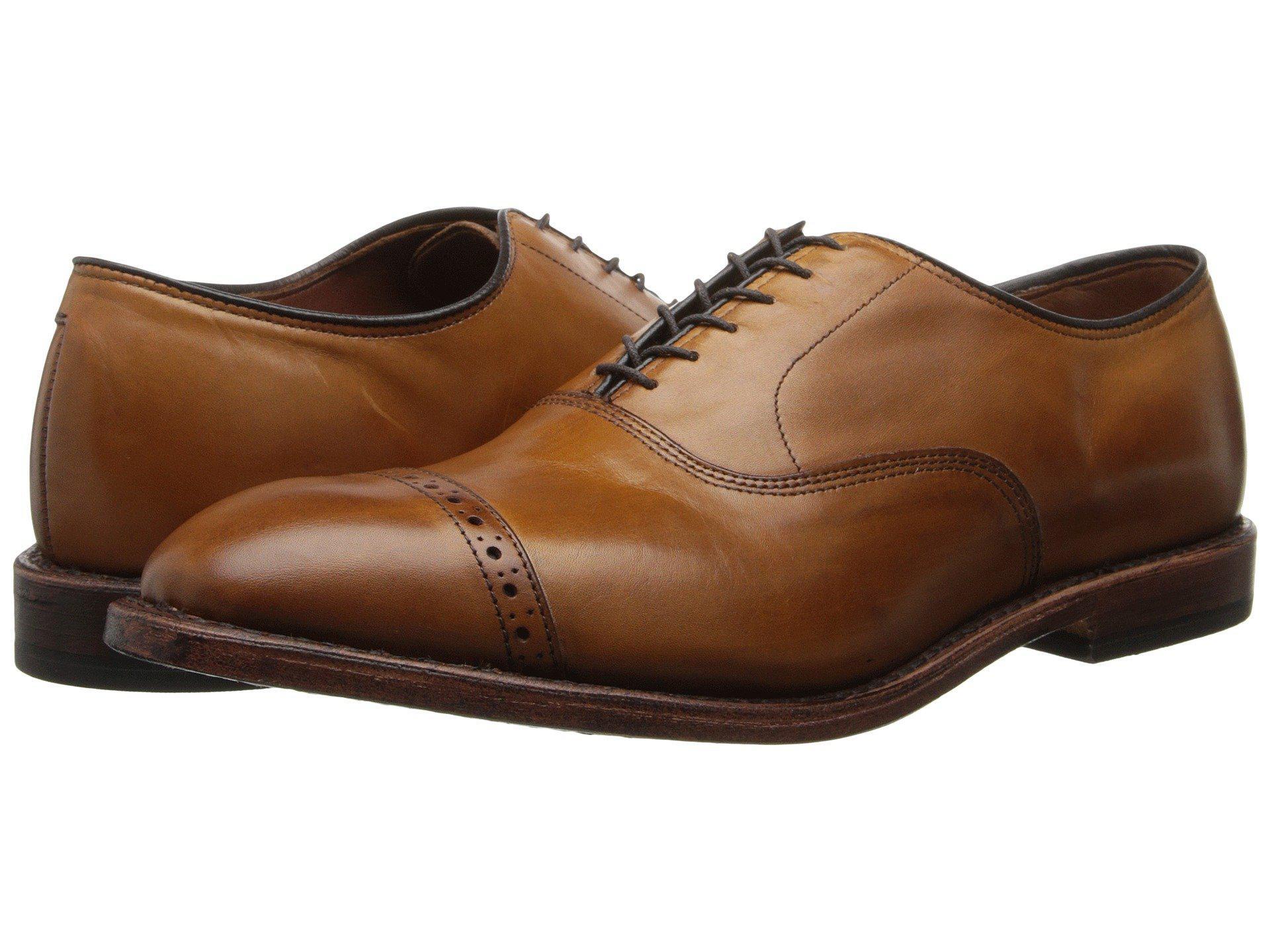 Lyst - Allen Edmonds Fifth Avenue (walnut Calf) Men s Lace Up Cap ... 950d59d1add