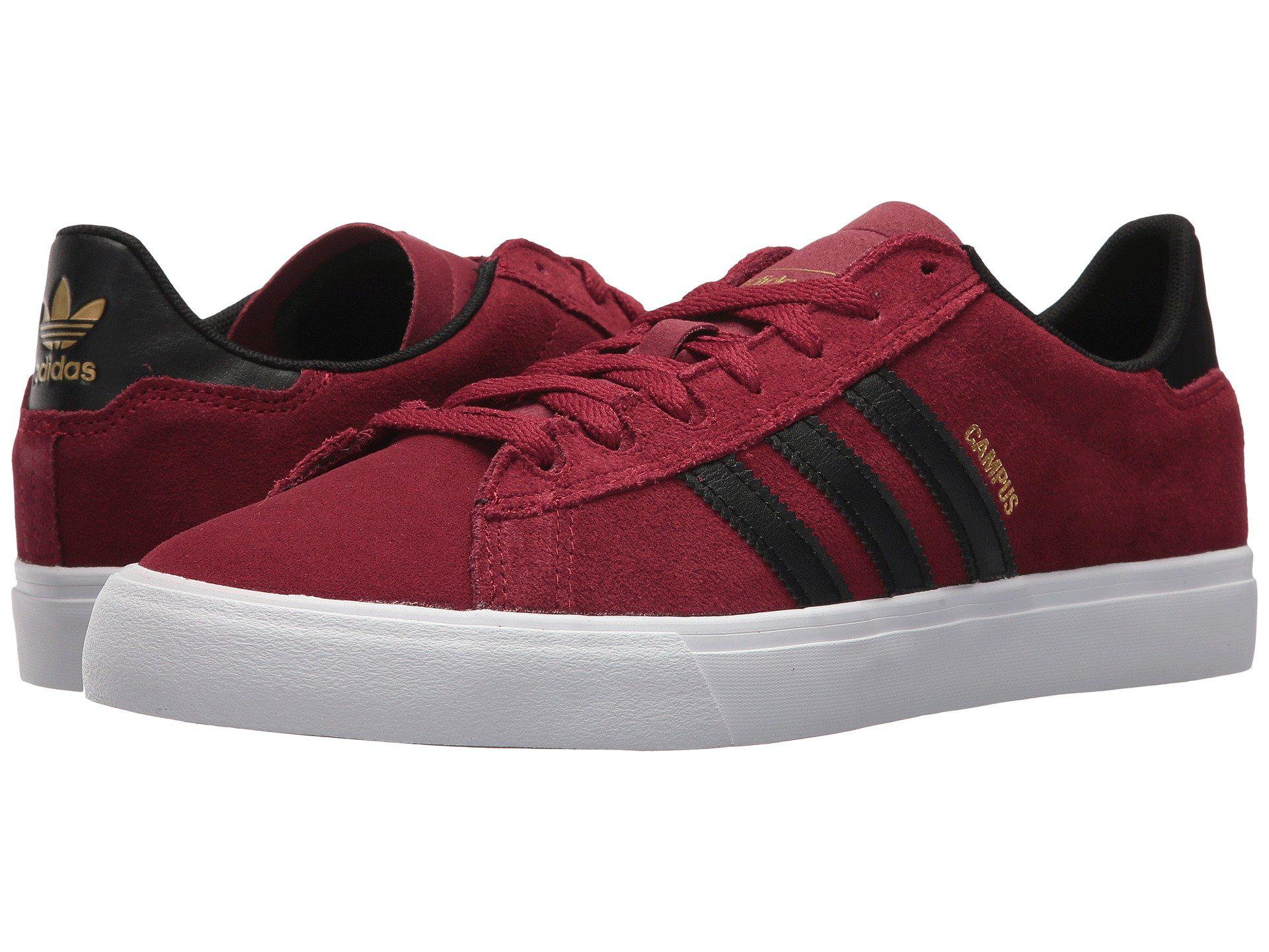 free shipping 9fde1 4d7b3 Lyst - Adidas Originals Campus Vulc Ii in Red for Men