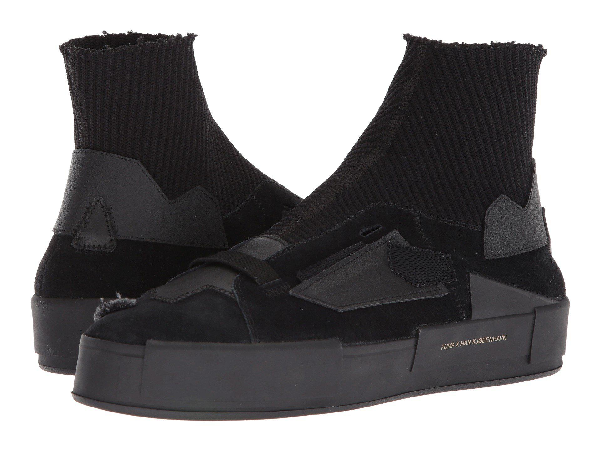 45b54844c2a969 Lyst - PUMA X Han Kjøbenhavn Court Platform Sneaker in Black for Men