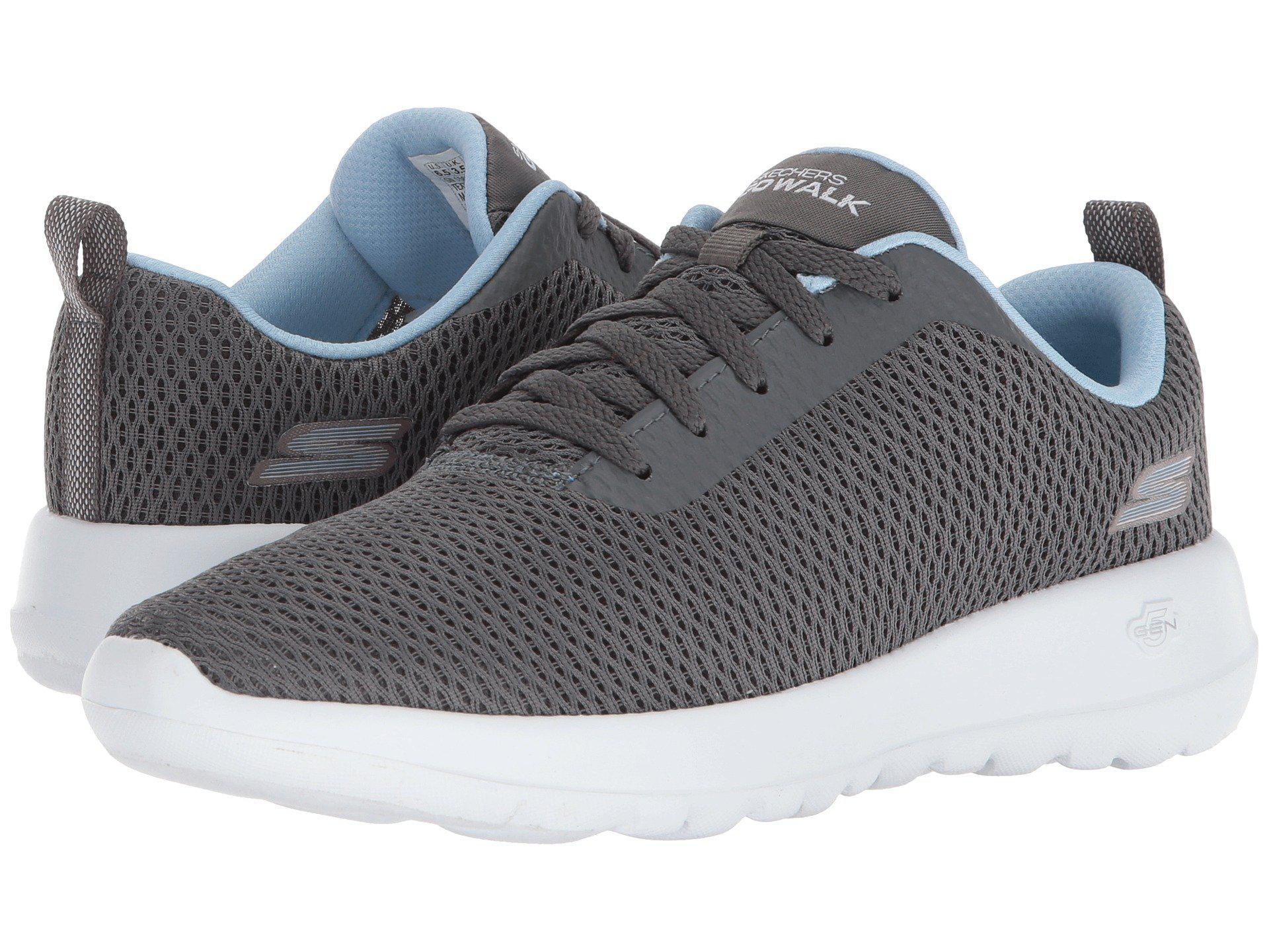 a1db39002342 Lyst - Skechers Gowalk Joy - Paradise (gray blue) Women s Shoes in Gray